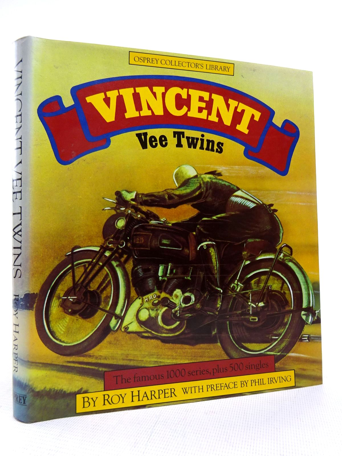 Photo of VINCENT VEE-TWINS written by Harper, Roy published by Osprey Publishing (STOCK CODE: 1816947)  for sale by Stella & Rose's Books