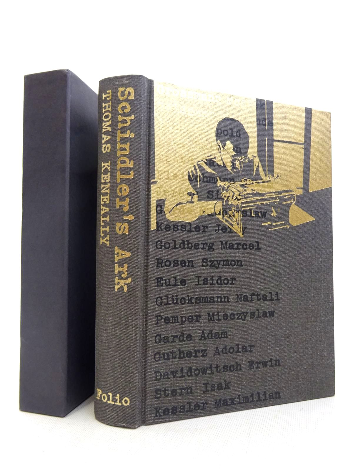 Photo of SCHINDLER'S ARK written by Keneally, Thomas illustrated by Laing, Tim published by Folio Society (STOCK CODE: 1817026)  for sale by Stella & Rose's Books