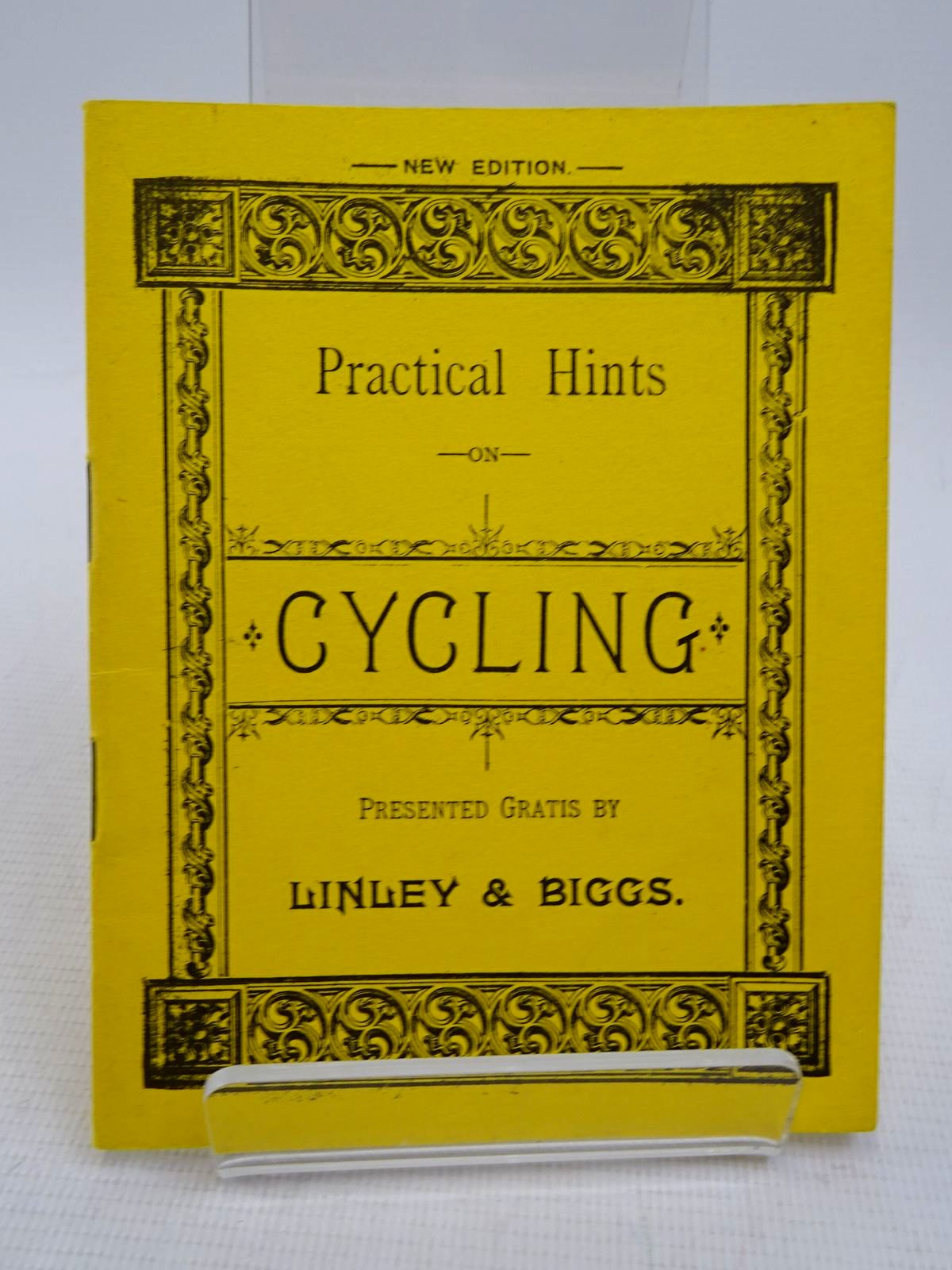 Photo of PRACTICAL HINTS ON CYCLING- Stock Number: 1817056
