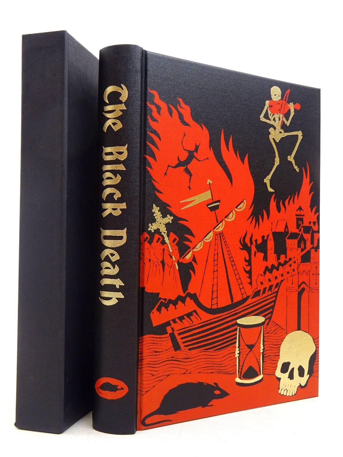 Photo of THE BLACK DEATH written by Ziegler, Philip published by Folio Society (STOCK CODE: 1817075)  for sale by Stella & Rose's Books
