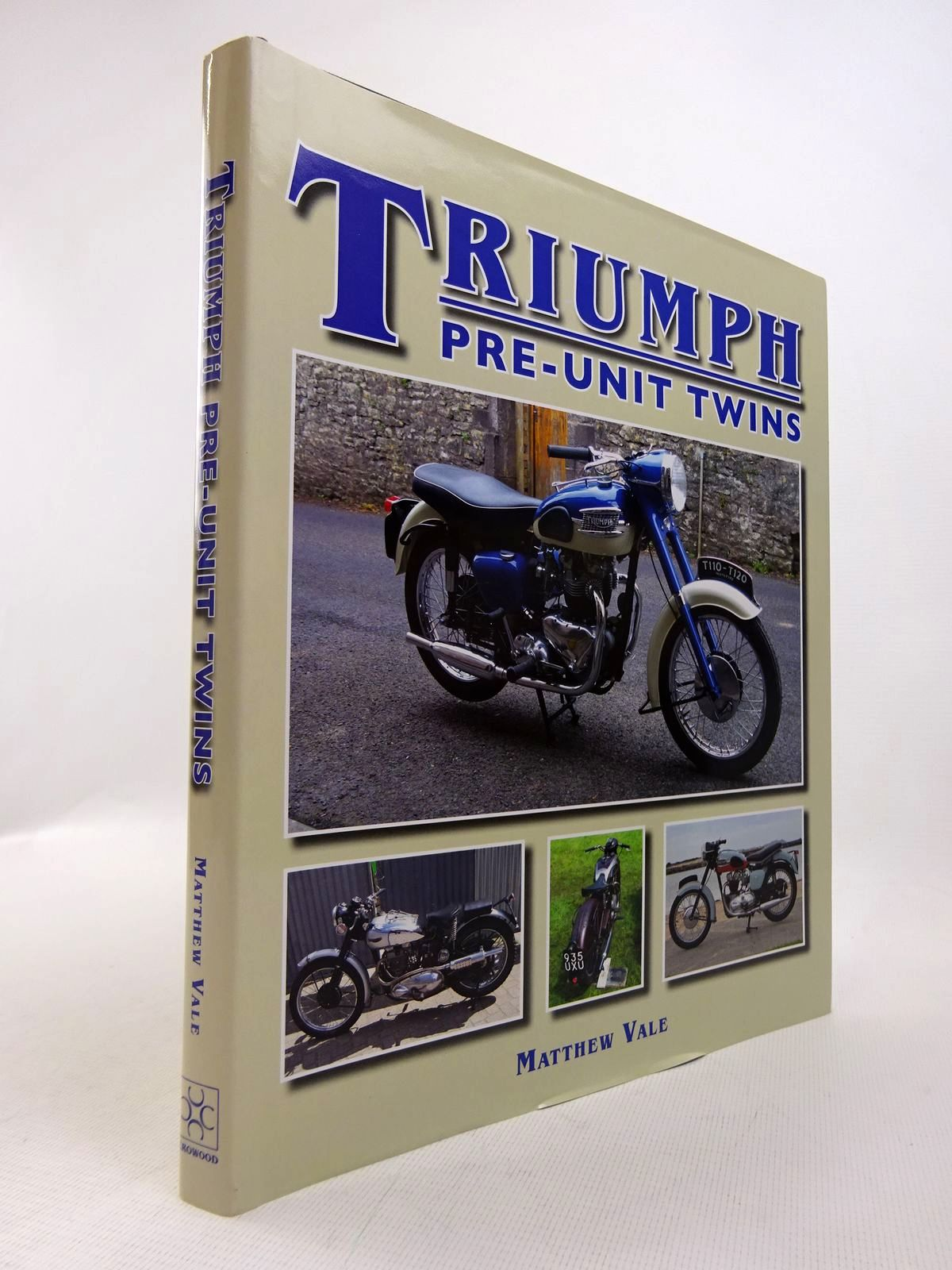 Photo of TRIUMPH PRE-UNIT TWINS written by Vale, Matthew published by The Crowood Press (STOCK CODE: 1817088)  for sale by Stella & Rose's Books