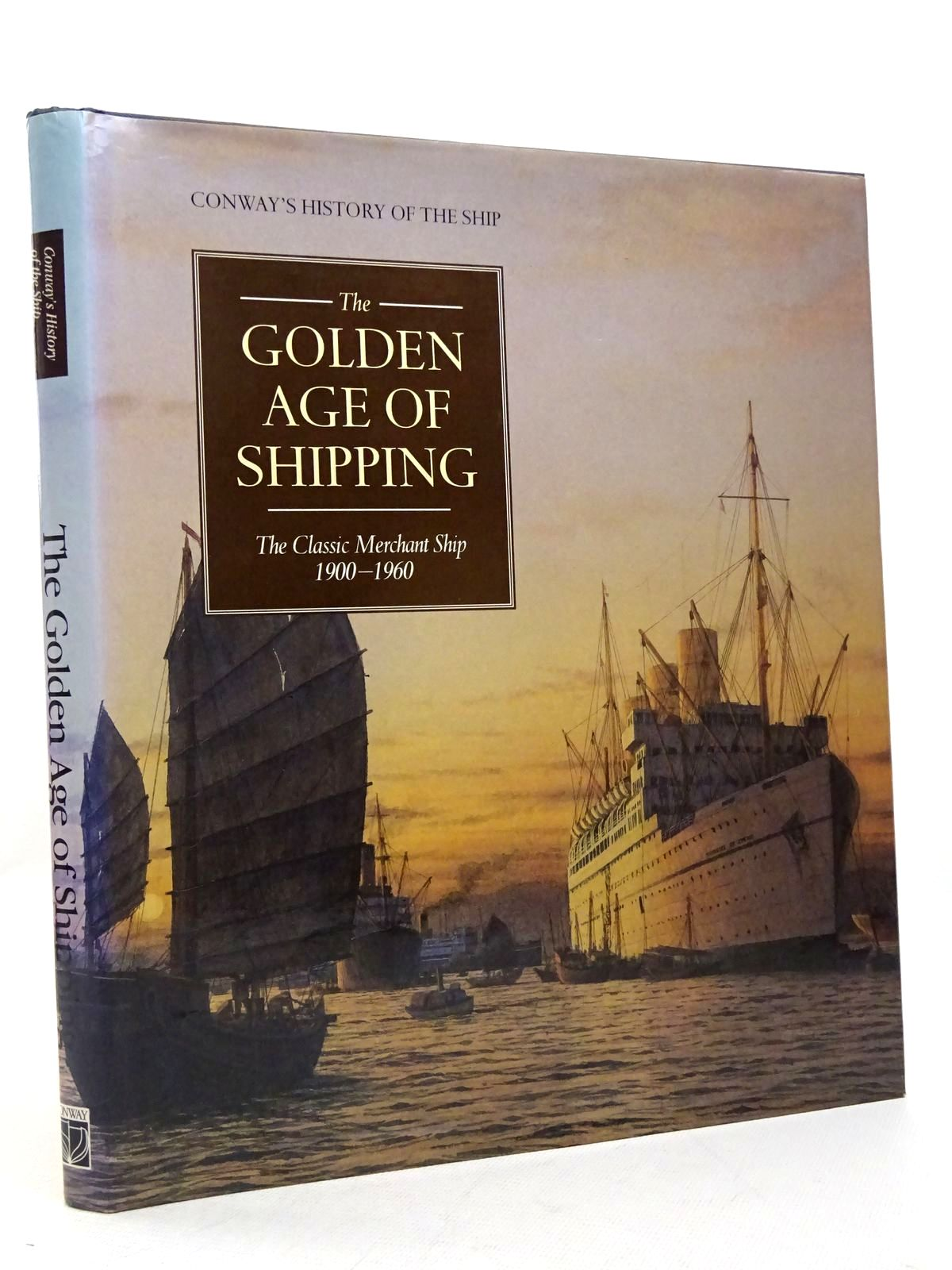 Photo of THE GOLDEN AGE OF SHIPPING THE CLASSIC MERCHANT SHIP 1900-1960 written by Gardiner, Robert<br />Greenway, Ambrose<br />et al,  published by Conway Maritime Press (STOCK CODE: 1817114)  for sale by Stella & Rose's Books
