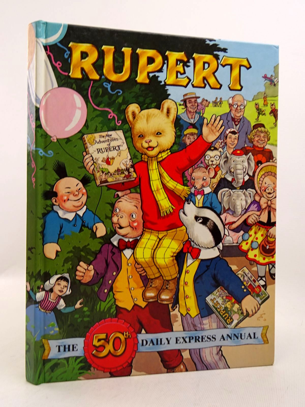 Photo of RUPERT ANNUAL 1985 written by Bestall, Alfred Henderson, James illustrated by Bestall, Alfred Harrold, John published by Express Newspapers Ltd. (STOCK CODE: 1817123)  for sale by Stella & Rose's Books