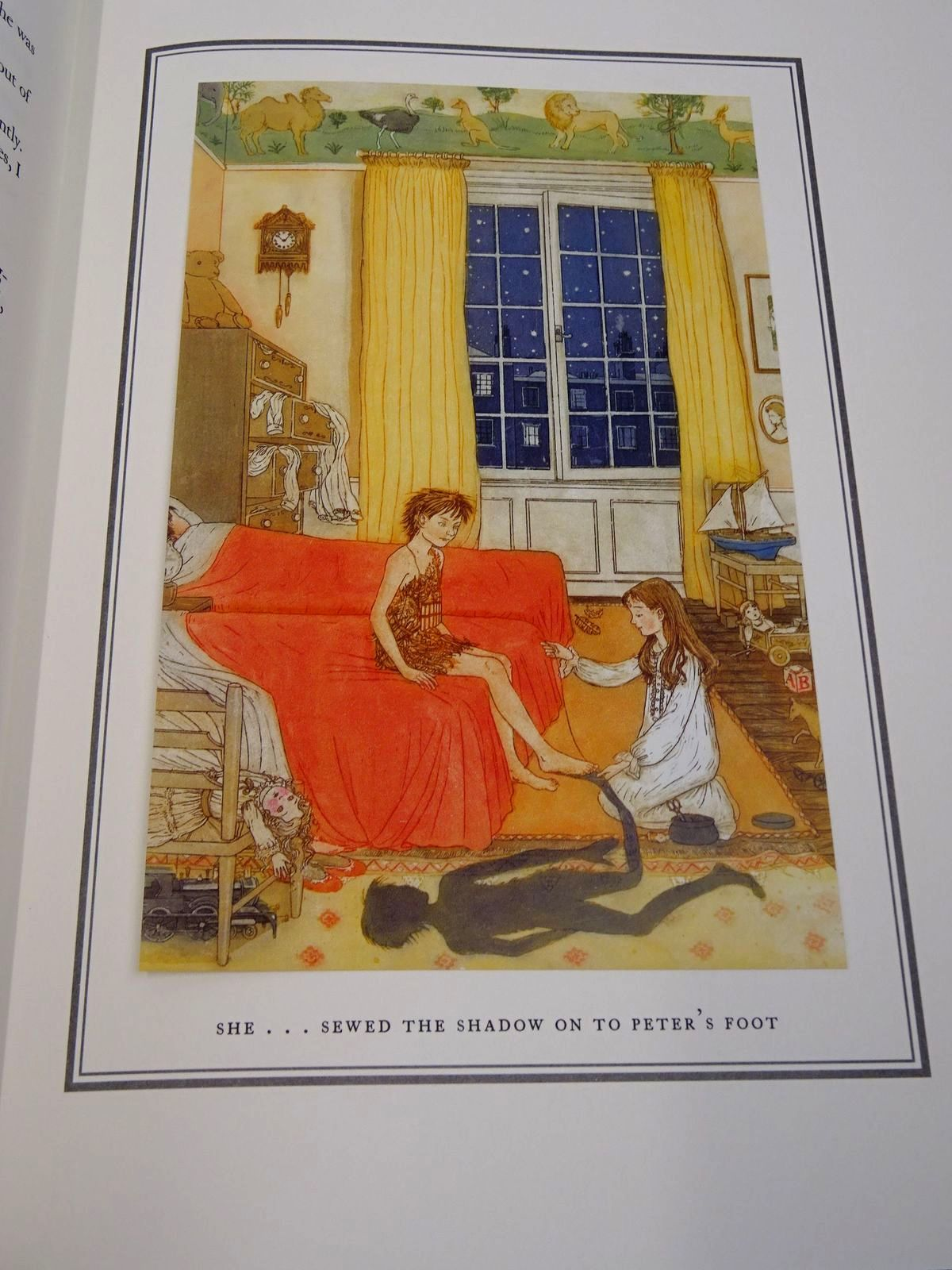 Photo of PETER PAN AND WENDY written by Barrie, J.M. illustrated by McFarlane, Debra published by Folio Society (STOCK CODE: 1817178)  for sale by Stella & Rose's Books