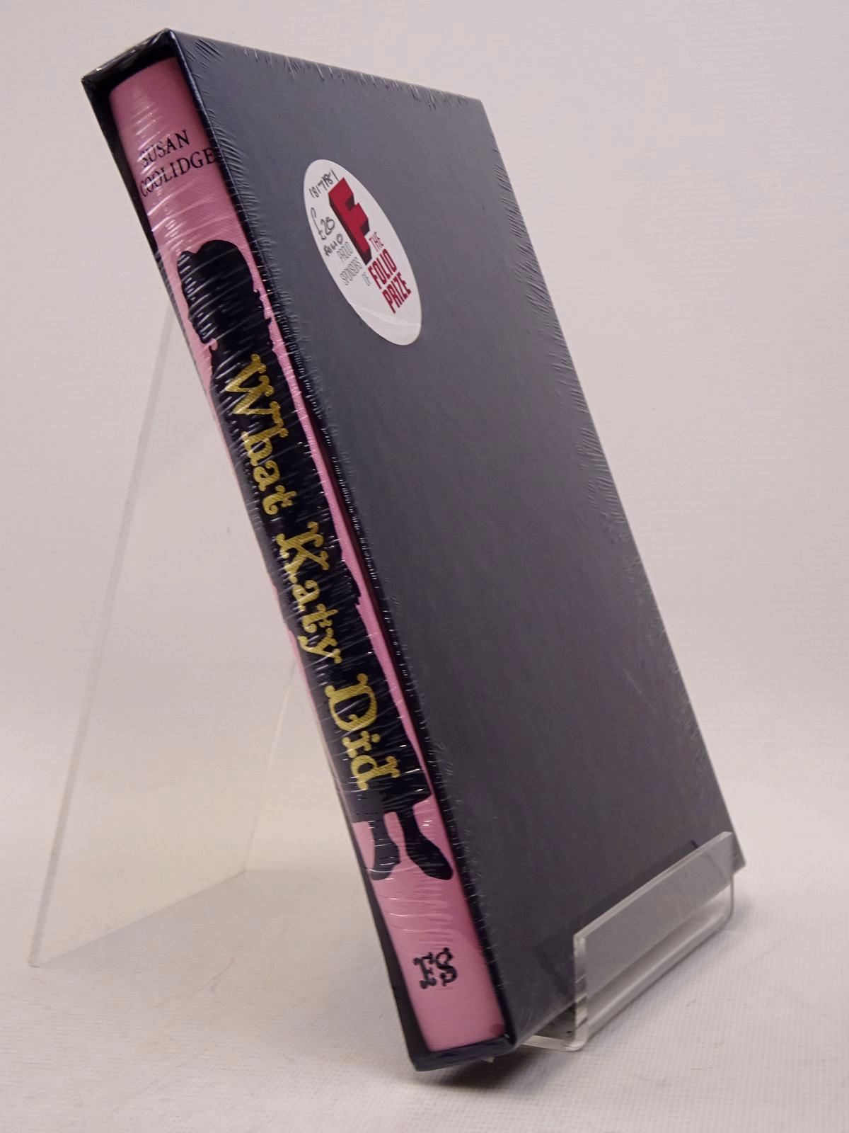 Photo of WHAT KATY DID written by Coolidge, Susan Craig, Amanda illustrated by Staffo, Deanna published by Folio Society (STOCK CODE: 1817181)  for sale by Stella & Rose's Books