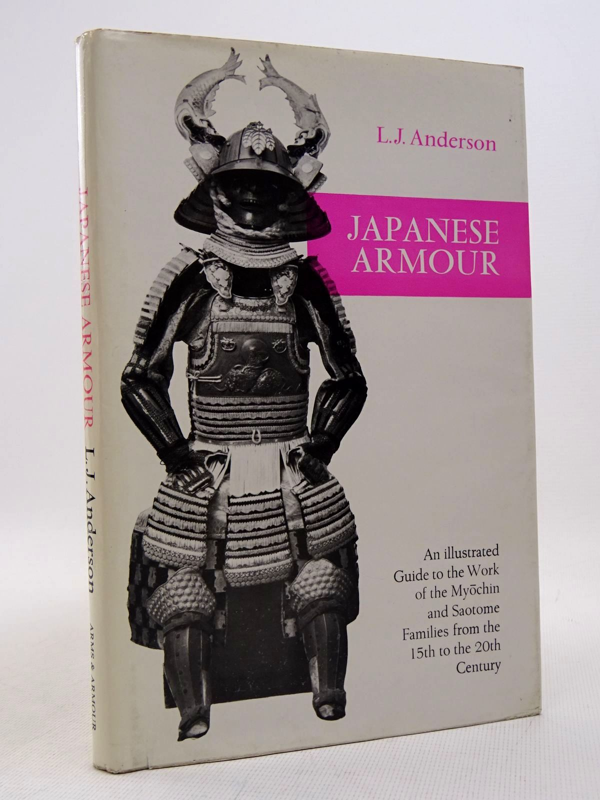 Photo of JAPANESE ARMOUR written by Anderson, L.J. published by Arms & Armour Press (STOCK CODE: 1817200)  for sale by Stella & Rose's Books