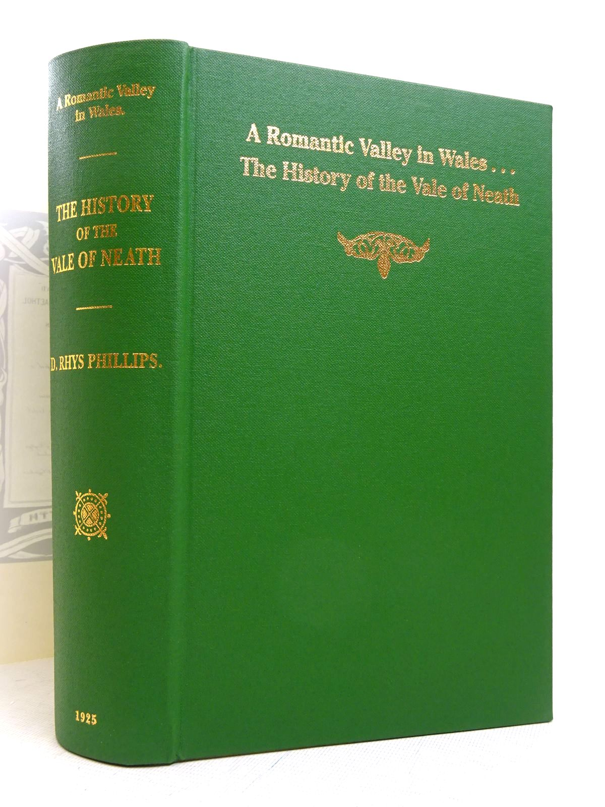 Photo of A ROMANTIC VALLEY IN WALES THE HISTORY OF THE VALE OF NEATH written by Phillips, D. Rhys published by West Glamorgan Archive Services, Neath Borough Council (STOCK CODE: 1817234)  for sale by Stella & Rose's Books