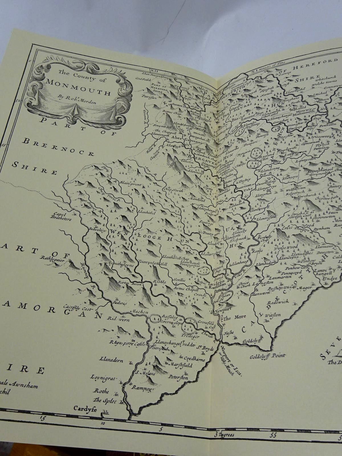 Photo of CAMDEN'S WALES written by Camden, William<br />Gibson, Edmund<br />Lhuyd, Edward<br />Walters, Gwyn illustrated by Morden, Robert published by The Rampart Press (STOCK CODE: 1817236)  for sale by Stella & Rose's Books