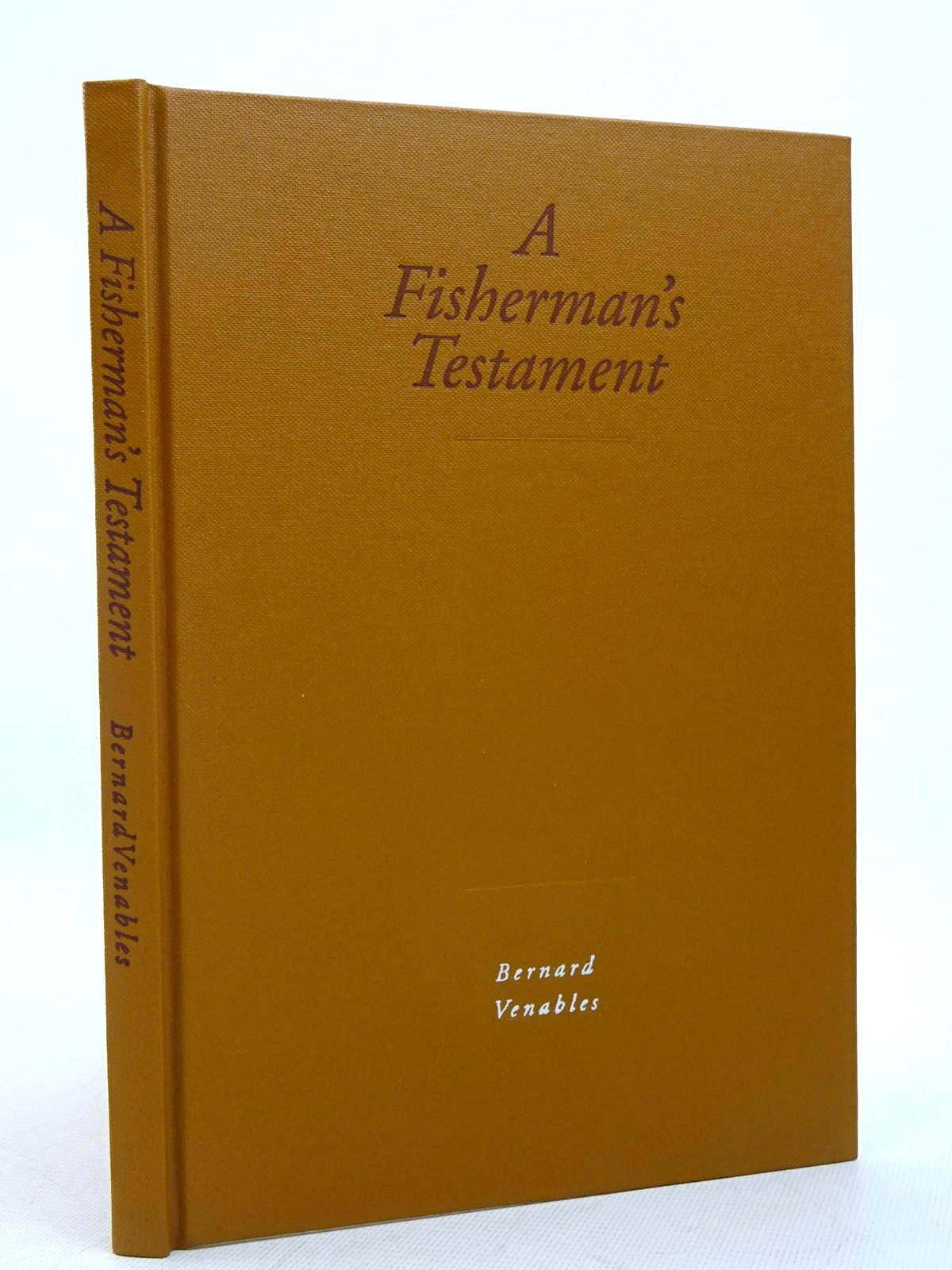 Photo of A FISHERMAN'S TESTAMENT- Stock Number: 1817248