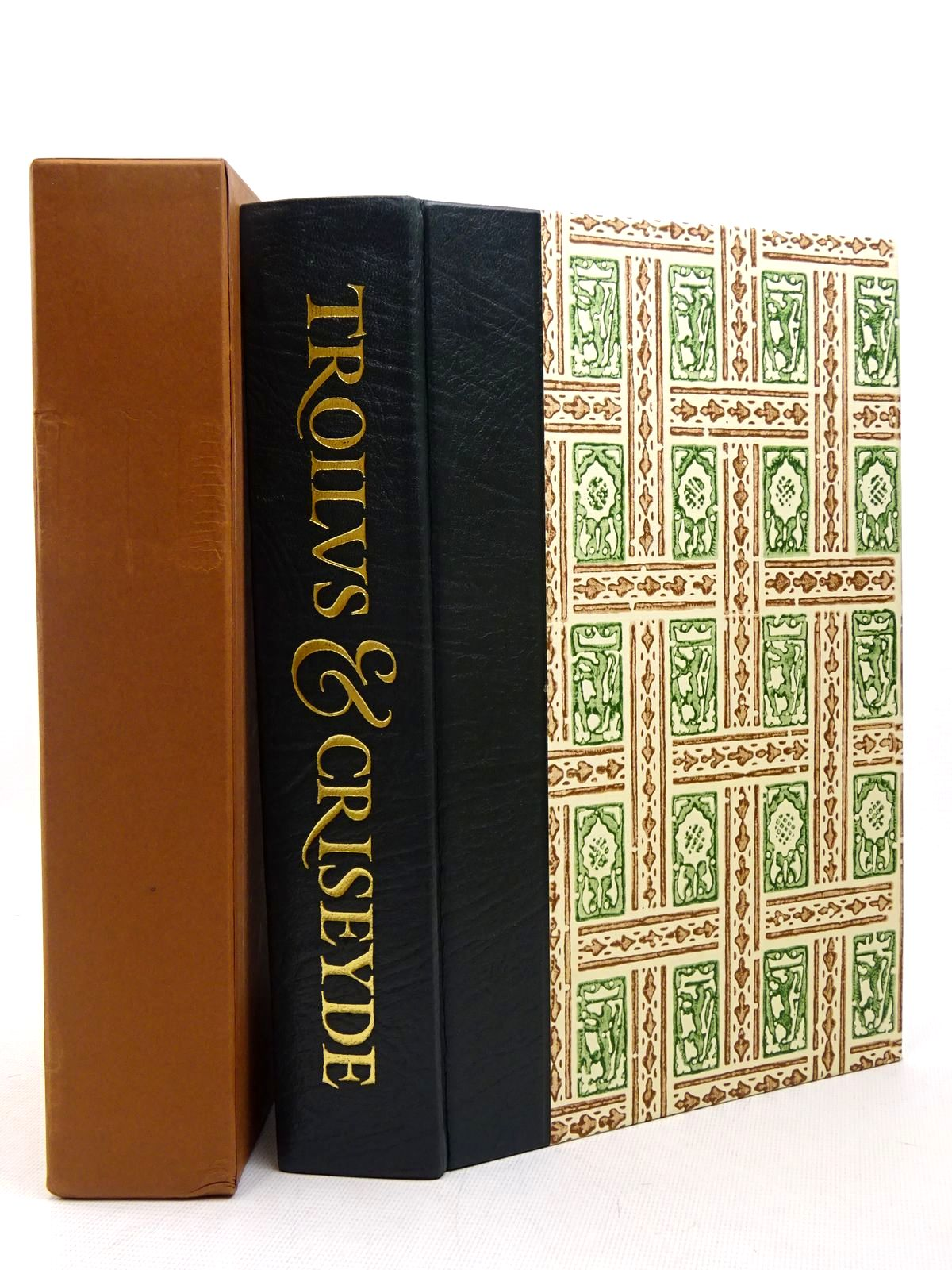 Photo of TROILUS &amp; CRISEYDE written by Chaucer, Geoffrey<br />Skeat, Walter W.<br />Boston, Stewart illustrated by Brookes, Peter published by Folio Society (STOCK CODE: 1817263)  for sale by Stella & Rose's Books