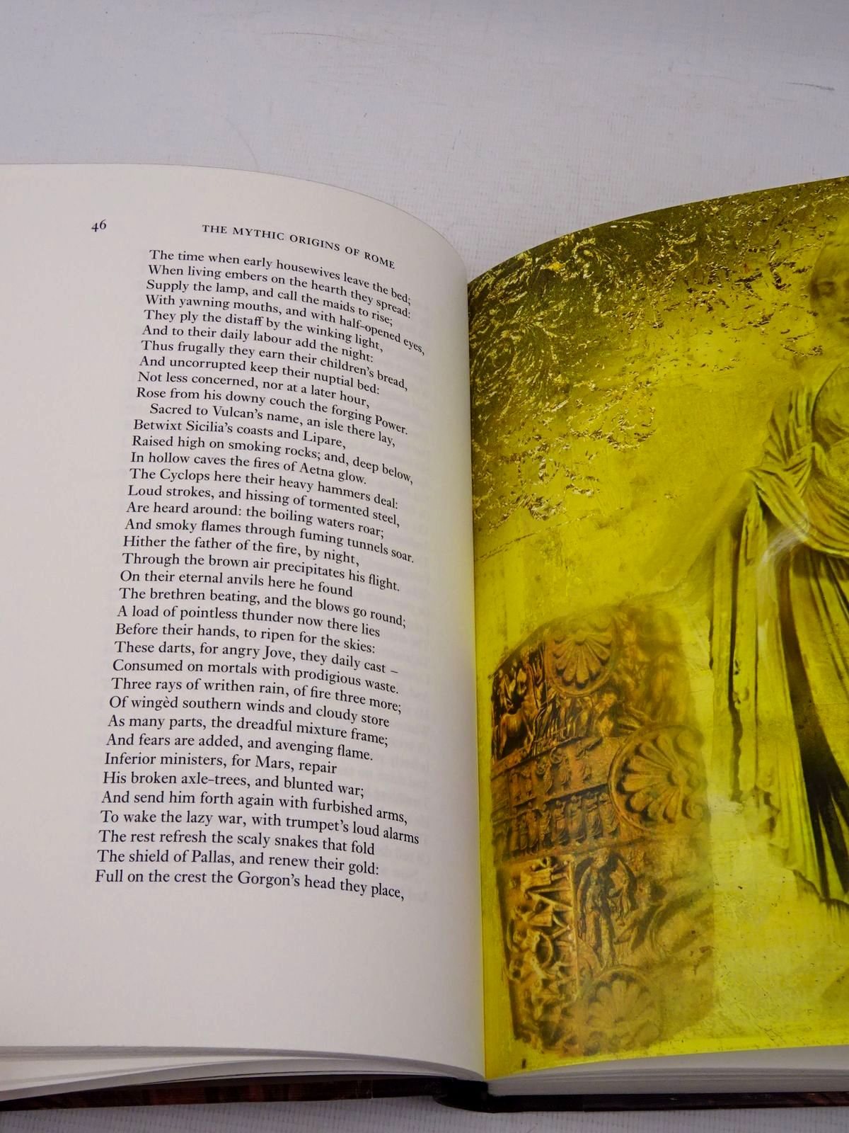 Photo of MYTHS AND LEGENDS OF ANCIENT ROME written by Norfolk, Lawrence illustrated by Baker, Grahame published by Folio Society (STOCK CODE: 1817269)  for sale by Stella & Rose's Books