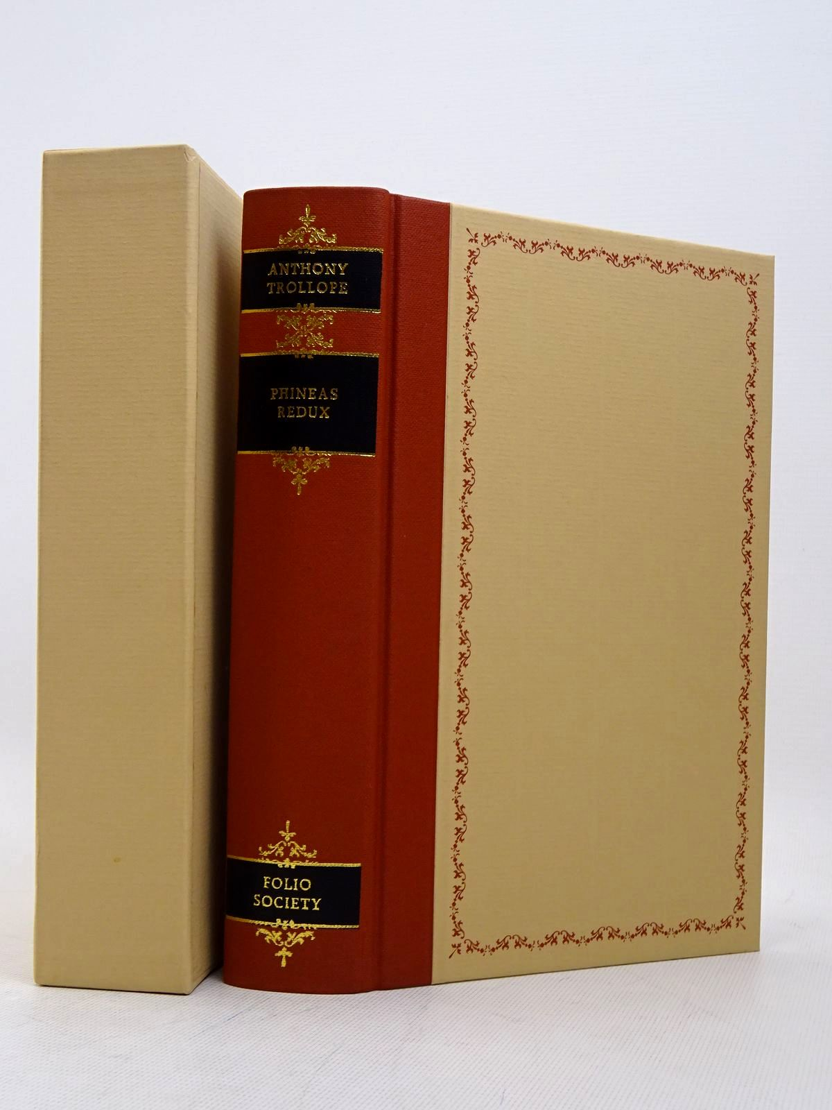 Photo of PHINEAS REDUX written by Trollope, Anthony illustrated by Thomas, Llewellyn published by Folio Society (STOCK CODE: 1817278)  for sale by Stella & Rose's Books