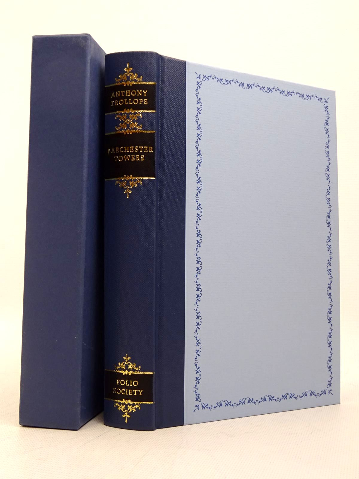 Photo of BARCHESTER TOWERS written by Trollope, Anthony<br />Rendell, Ruth illustrated by Pendle, Alexy published by Folio Society (STOCK CODE: 1817296)  for sale by Stella & Rose's Books