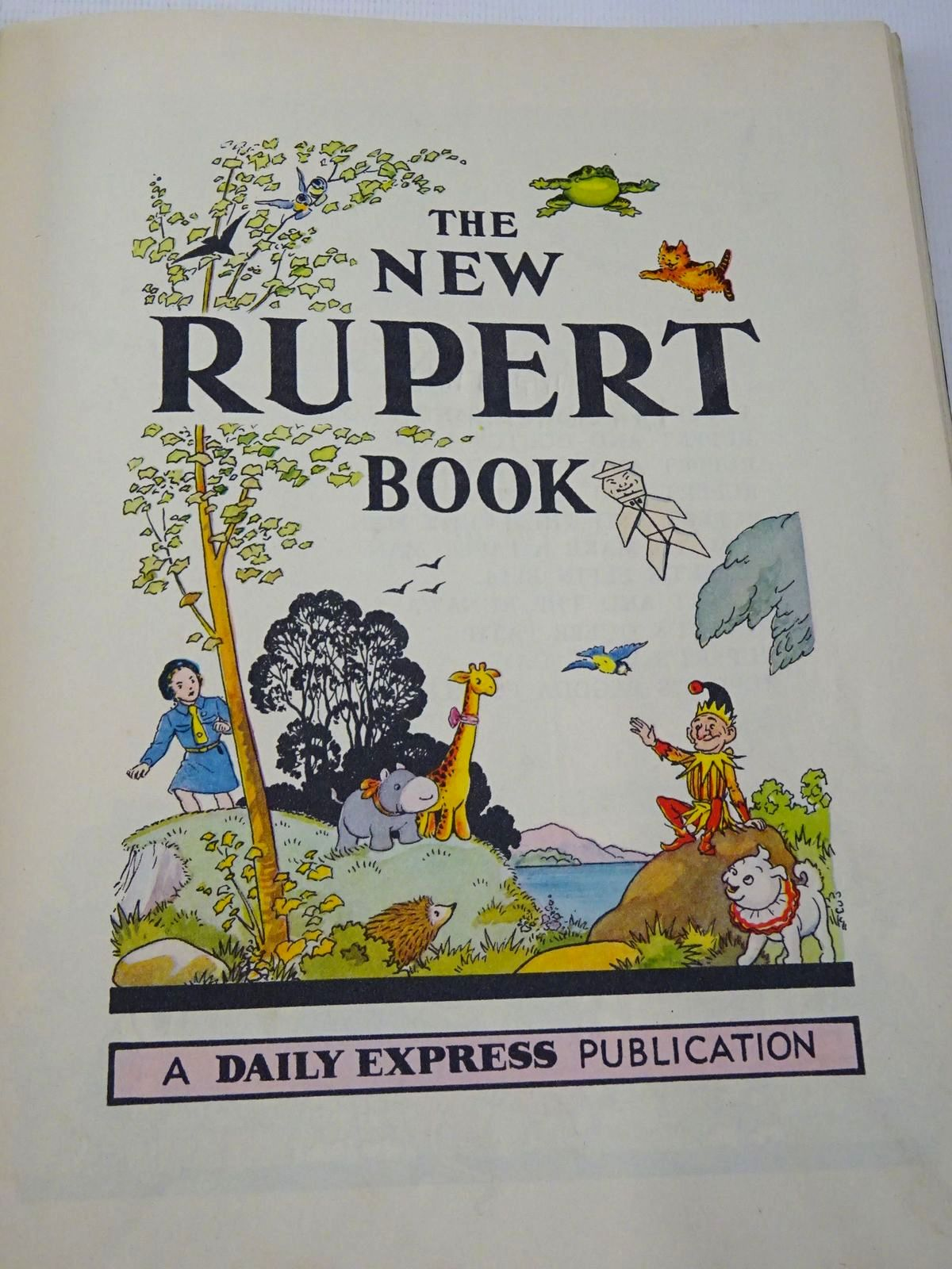 Photo of RUPERT ANNUAL 1951 - THE NEW RUPERT BOOK written by Bestall, Alfred illustrated by Bestall, Alfred published by Daily Express (STOCK CODE: 1817301)  for sale by Stella & Rose's Books