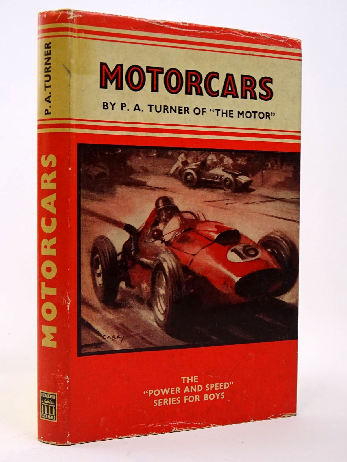 Photo of MOTORCARS written by Turner, Philip A. published by Temple Press (STOCK CODE: 1817377)  for sale by Stella & Rose's Books