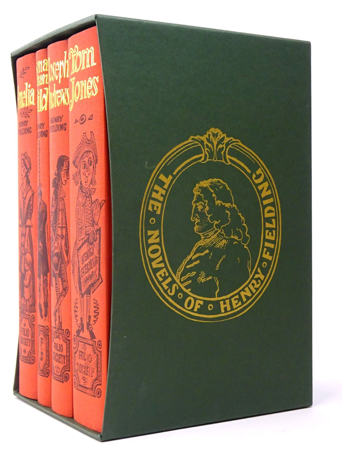 Photo of THE NOVELS OF HENRY FIELDING (4 VOLUMES)- Stock Number: 1817403
