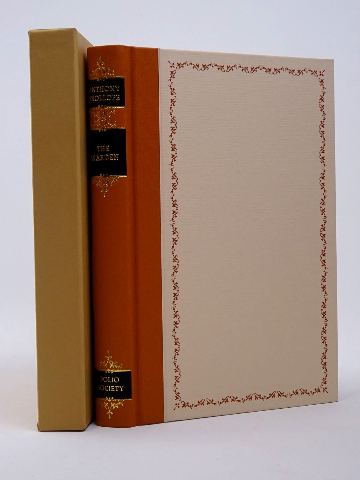 Photo of THE WARDEN written by Trollope, Anthony illustrated by Pendle, Alexy published by Folio Society (STOCK CODE: 1817404)  for sale by Stella & Rose's Books