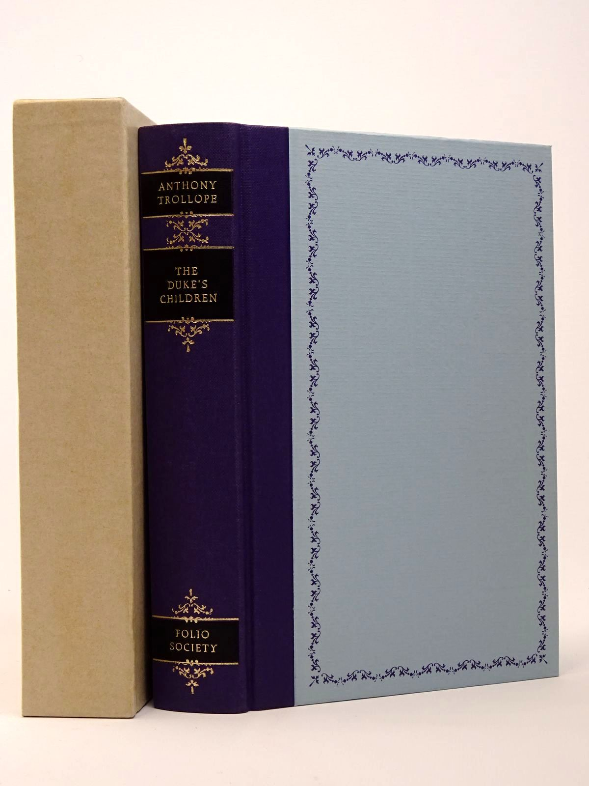 Photo of THE DUKE'S CHILDREN written by Trollope, Anthony illustrated by Thomas, Llewellyn published by Folio Society (STOCK CODE: 1817408)  for sale by Stella & Rose's Books