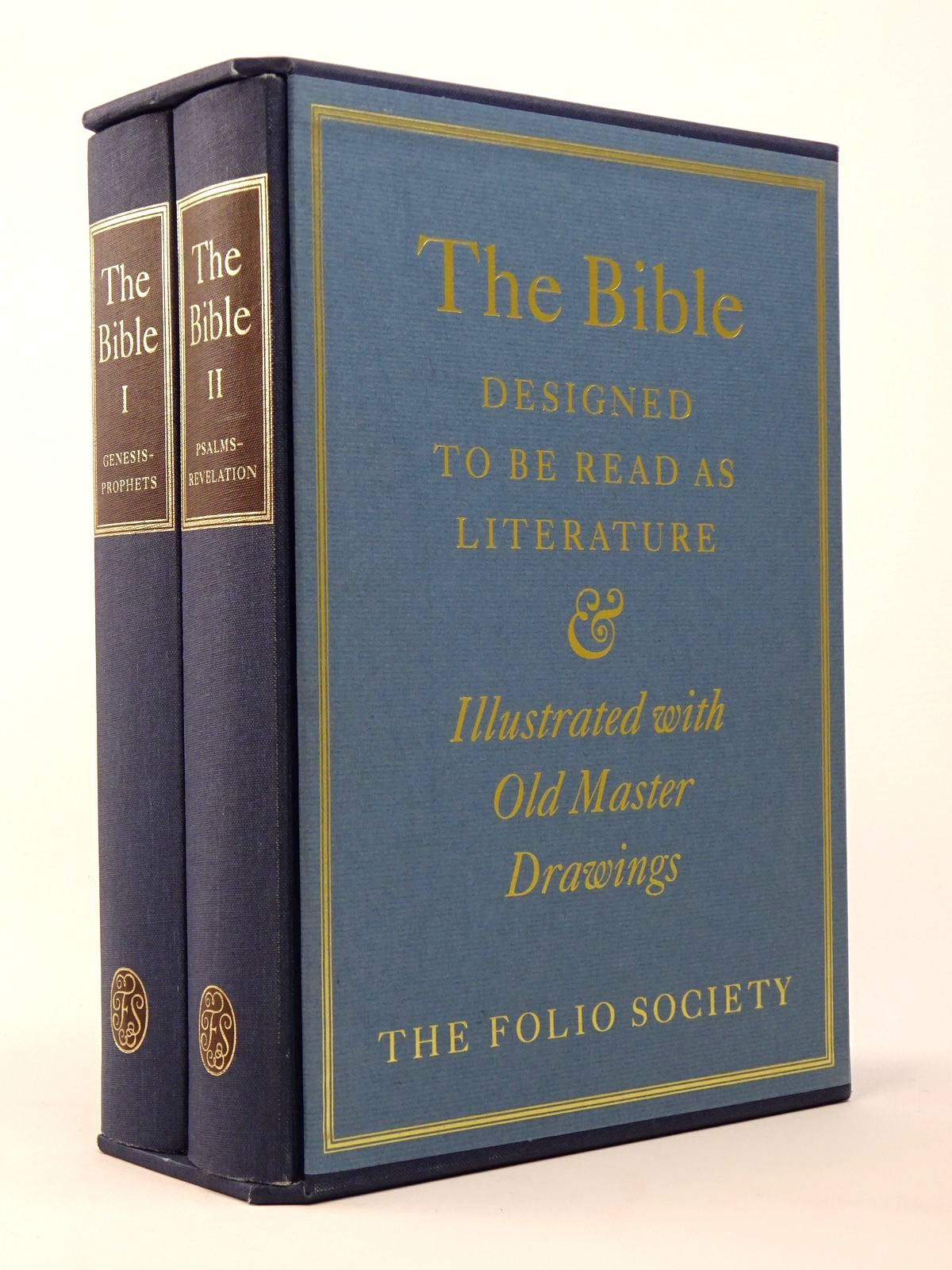 Photo of THE BIBLE DESIGNED TO BE READ AS LITERATURE (2 VOLUMES) written by Bates, Ernest Sutherland published by Folio Society (STOCK CODE: 1817409)  for sale by Stella & Rose's Books