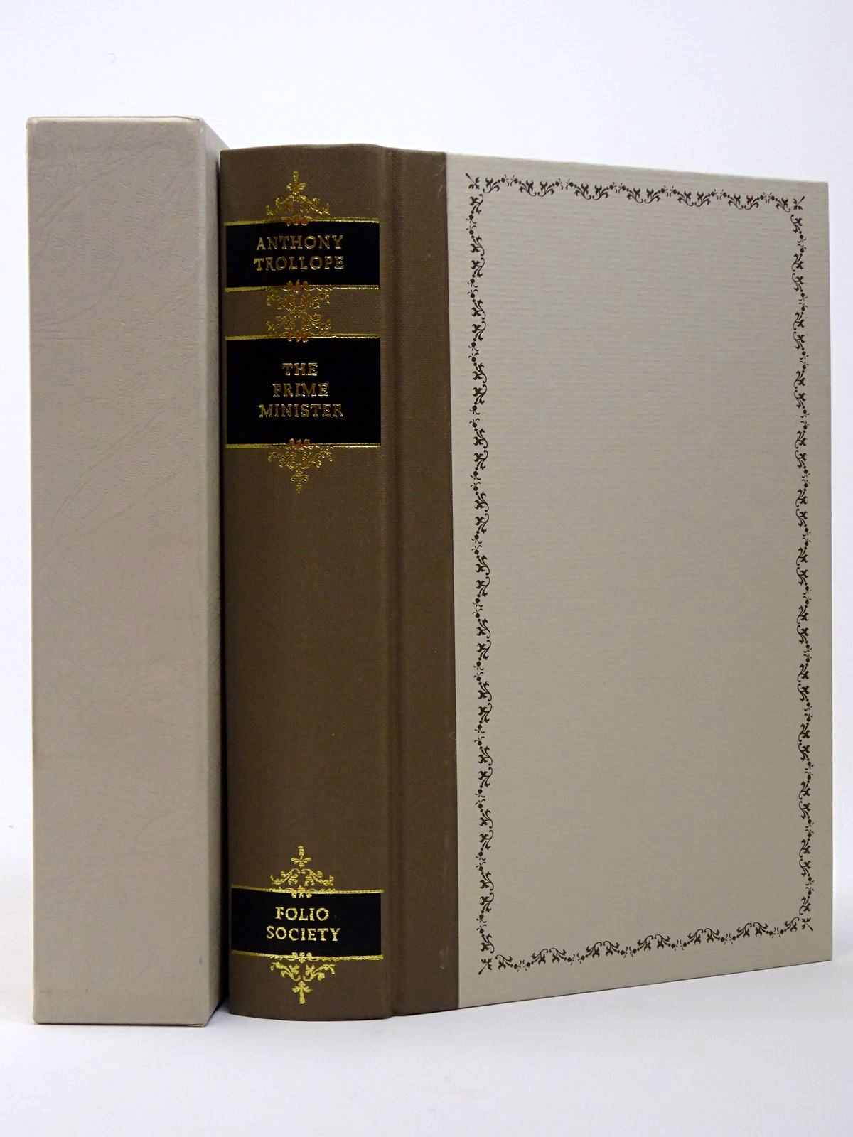 Photo of THE PRIME MINISTER written by Trollope, Anthony<br />Briggs, Asa illustrated by Thomas, Llewellyn published by Folio Society (STOCK CODE: 1817422)  for sale by Stella & Rose's Books