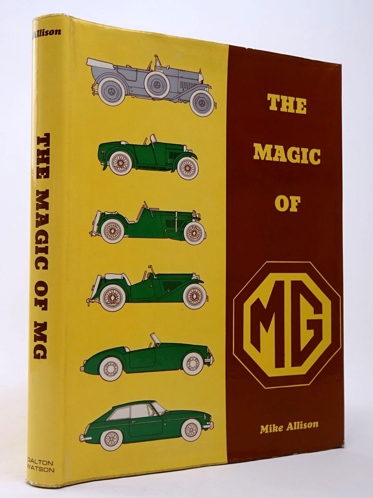 Photo of THE MAGIC OF MG written by Allison, Mike published by Dalton Watson (STOCK CODE: 1817432)  for sale by Stella & Rose's Books