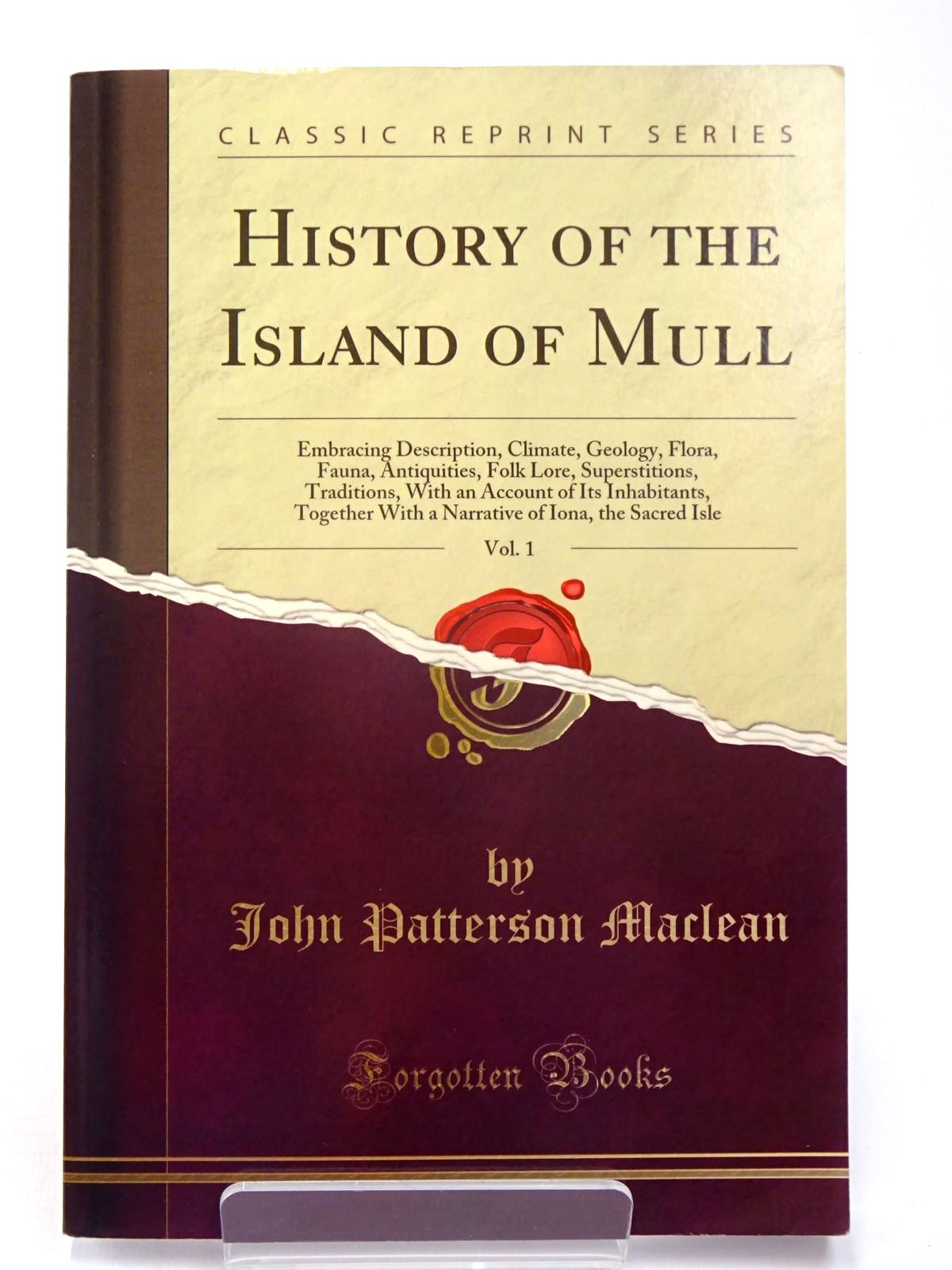 Photo of HISTORY OF THE ISLAND OF MULL VOL. I- Stock Number: 1817536