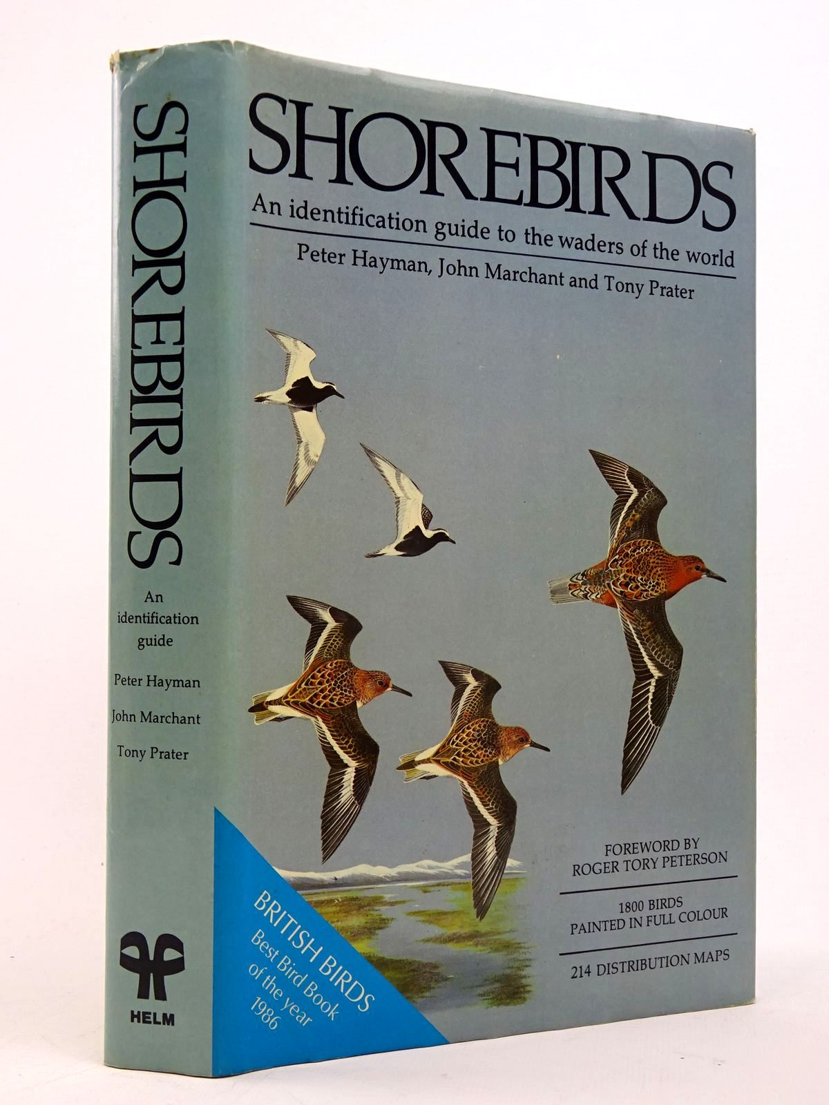 Photo of SHOREBIRDS: AN IDENTIFICATION GUIDE TO THE WADERS OF THE WORLD written by Marchant, John H. Prater, Tony illustrated by Hayman, Peter published by Christopher Helm (STOCK CODE: 1817571)  for sale by Stella & Rose's Books