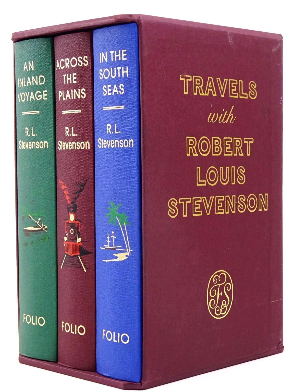 Photo of TRAVELS WITH ROBERT LOUIS STEVENSON (THREE VOLUMES)- Stock Number: 1817601
