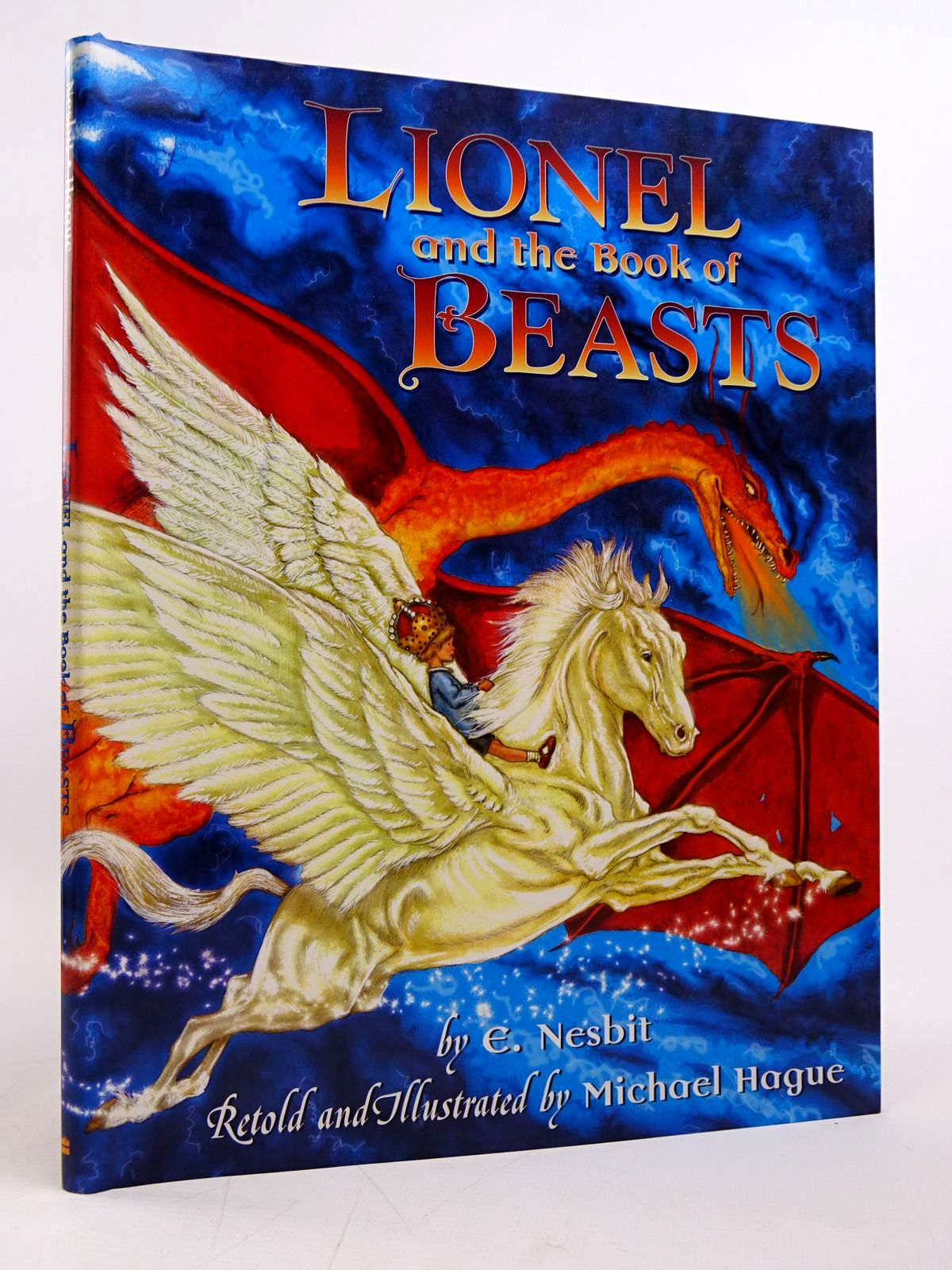 Photo of LIONEL AND THE BOOK OF BEASTS written by Nesbit, E. Hague, Michael illustrated by Hague, Michael published by Harper Collins (STOCK CODE: 1817623)  for sale by Stella & Rose's Books