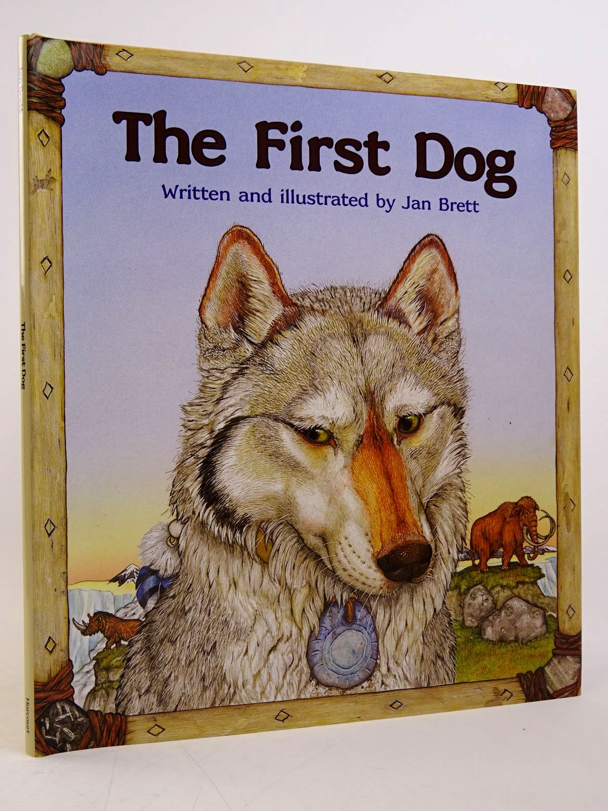 Photo of THE FIRST DOG written by Brett, Jan illustrated by Brett, Jan published by Harcourt, Inc (STOCK CODE: 1817625)  for sale by Stella & Rose's Books