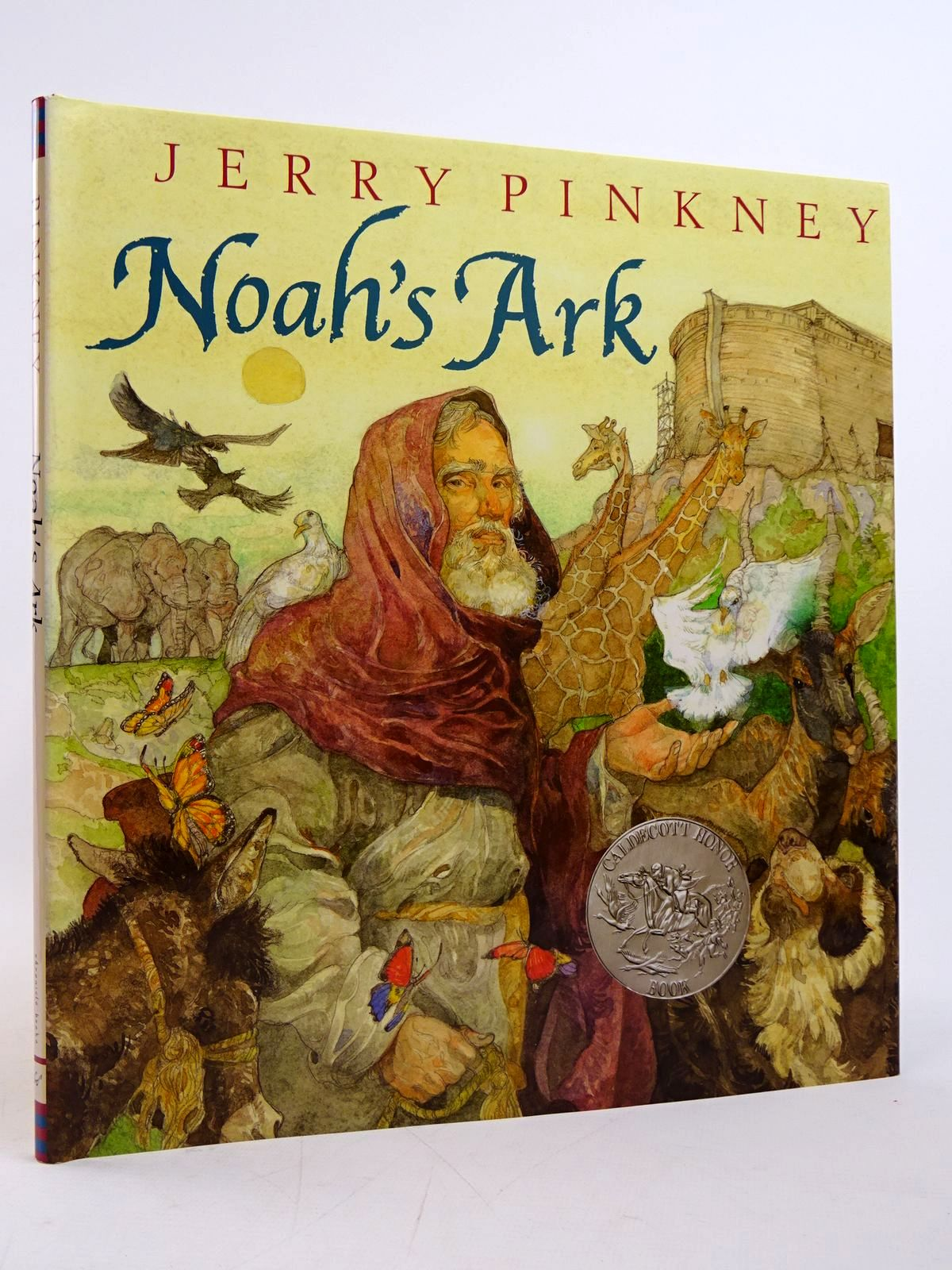 Photo of NOAH'S ARK written by Pinkney, Jerry illustrated by Pinkney, Jerry published by Chronicle Books (STOCK CODE: 1817626)  for sale by Stella & Rose's Books