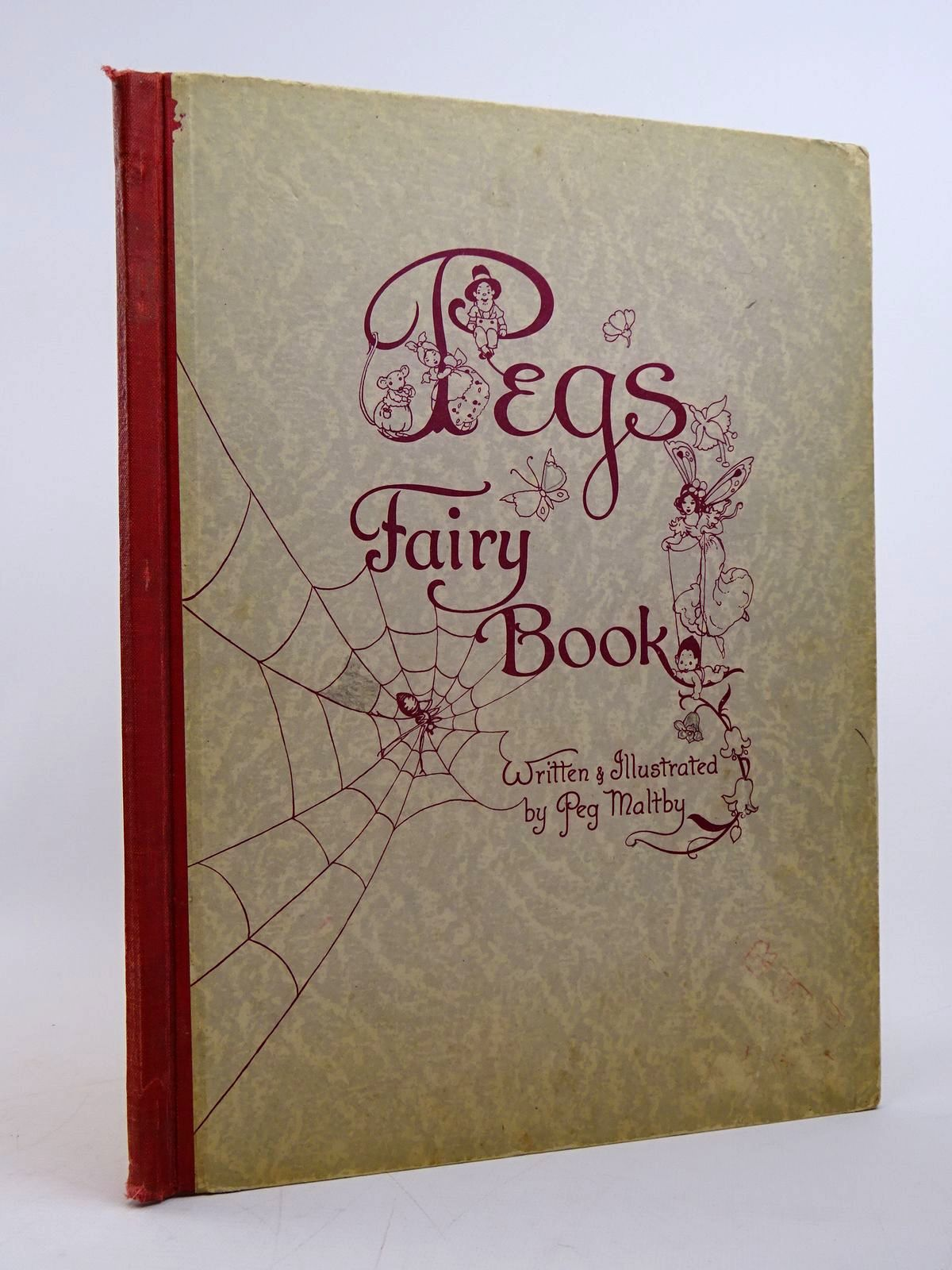 Photo of PEG'S FAIRY BOOK written by Maltby, Peg illustrated by Maltby, Peg published by Murfett Pty. Ltd. (STOCK CODE: 1817629)  for sale by Stella & Rose's Books