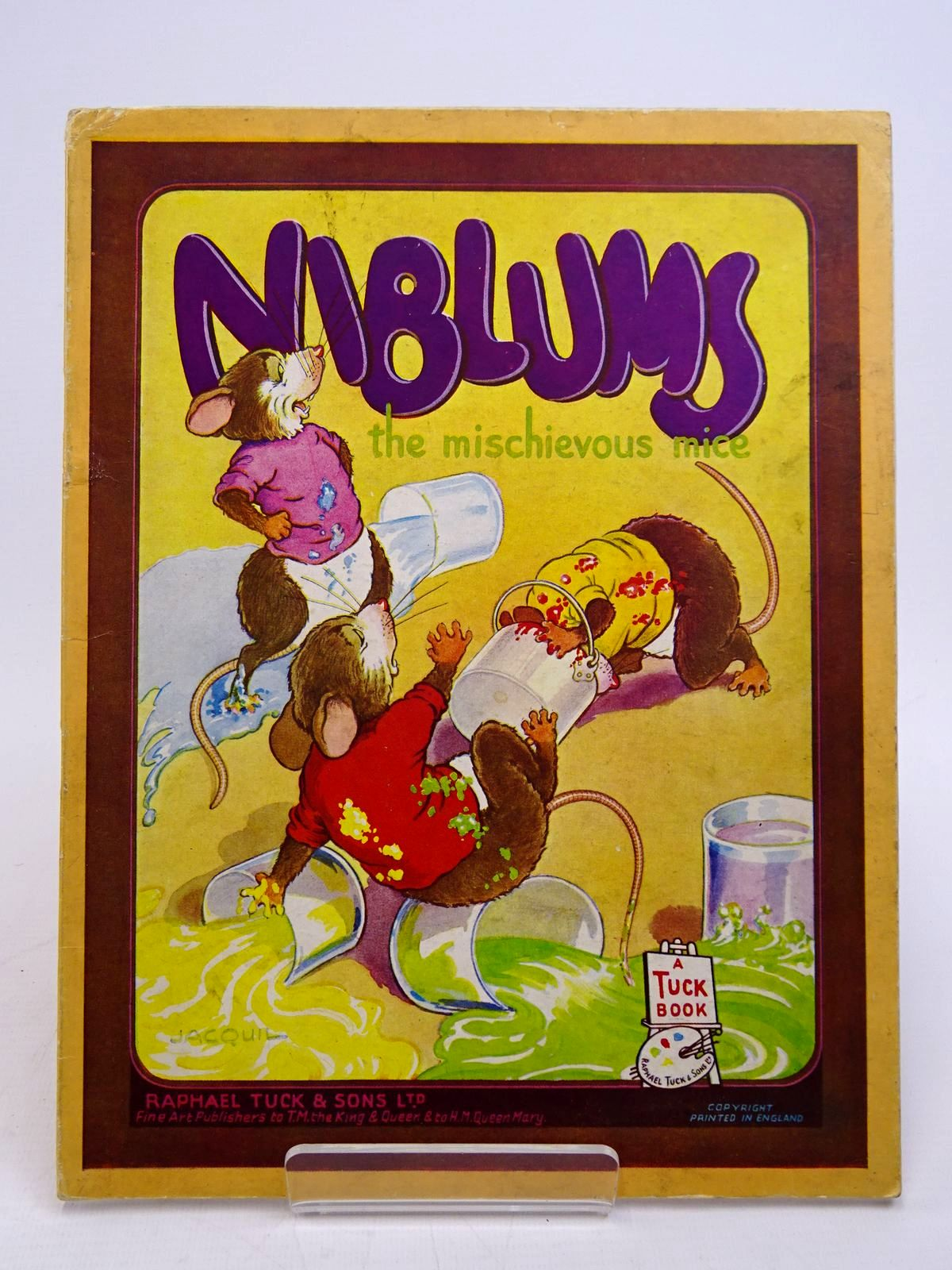 Photo of NIBLUMS THE MISCHIEVOUS MICE- Stock Number: 1817636