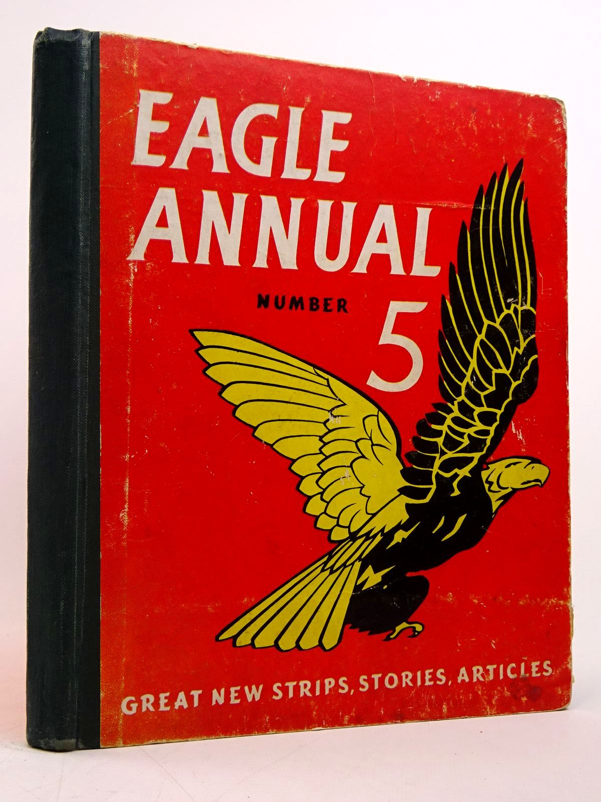 Photo of EAGLE ANNUAL No. 5 written by Morris, Marcus published by Hulton Press Ltd. (STOCK CODE: 1817641)  for sale by Stella & Rose's Books