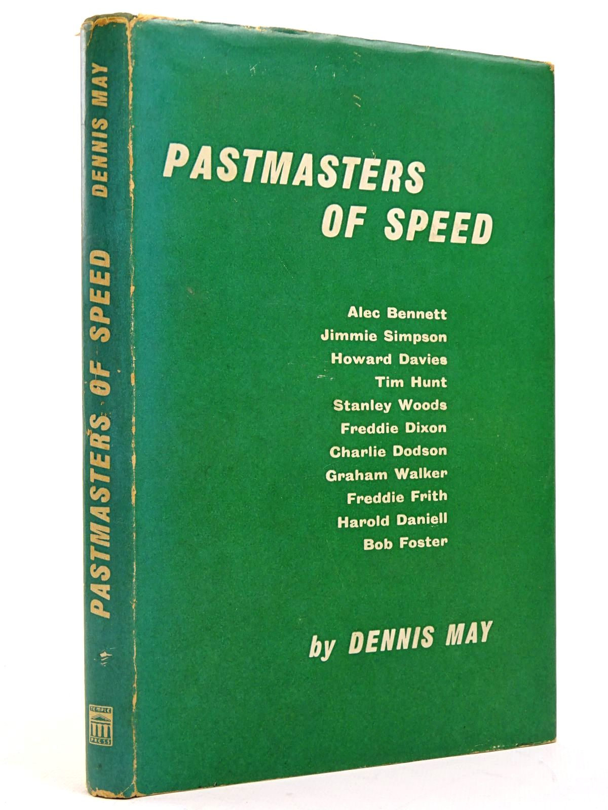 Photo of PASTMASTERS OF SPEED written by May, Dennis published by Temple Press (STOCK CODE: 1817645)  for sale by Stella & Rose's Books