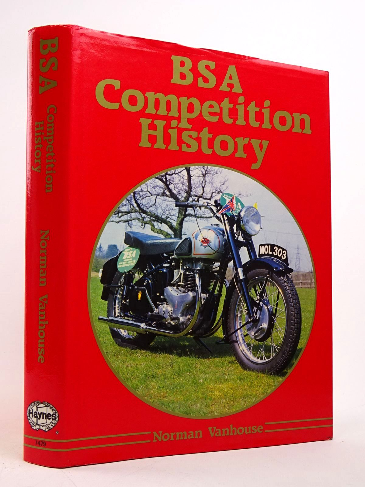 Photo of BSA COMPETITION HISTORY written by Vanhouse, Norman published by Foulis, Haynes Publishing Group (STOCK CODE: 1817652)  for sale by Stella & Rose's Books