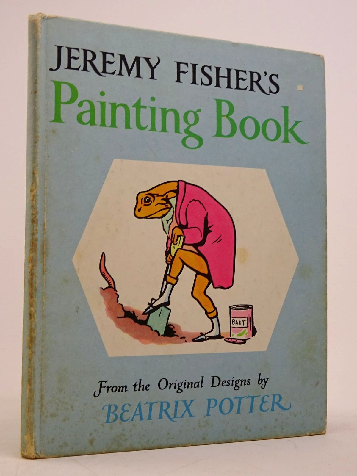 Photo of JEREMY FISHER'S PAINTING BOOK- Stock Number: 1817676