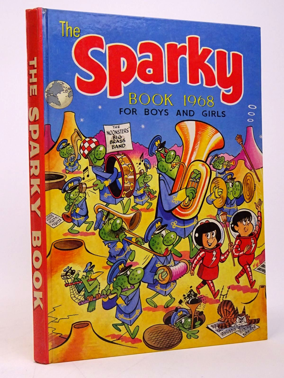 Photo of THE SPARKY BOOK 1968- Stock Number: 1817709