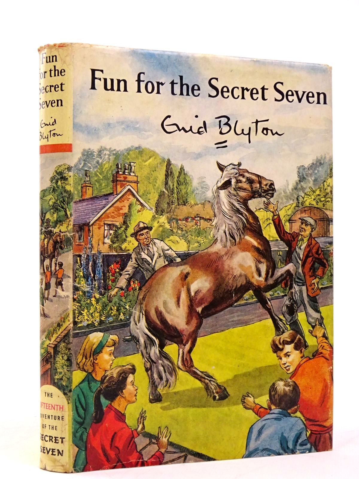 Photo of FUN FOR THE SECRET SEVEN written by Blyton, Enid illustrated by Sharrocks, Burgess published by Brockhampton Press (STOCK CODE: 1817757)  for sale by Stella & Rose's Books