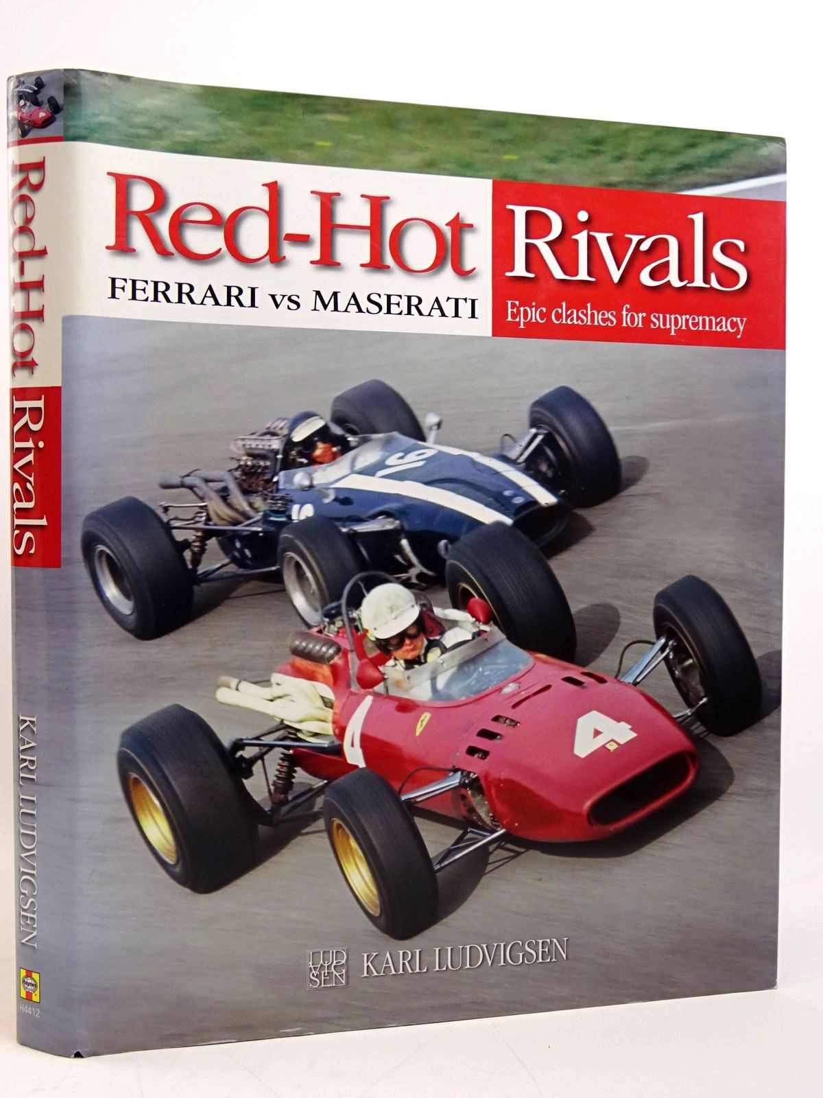 Photo of RED-HOT RIVALS: FERRARI VS MASERATI - EPIC CLASHES FOR SUPREMACY written by Ludvigsen, Karl published by Haynes Publishing (STOCK CODE: 1817781)  for sale by Stella & Rose's Books