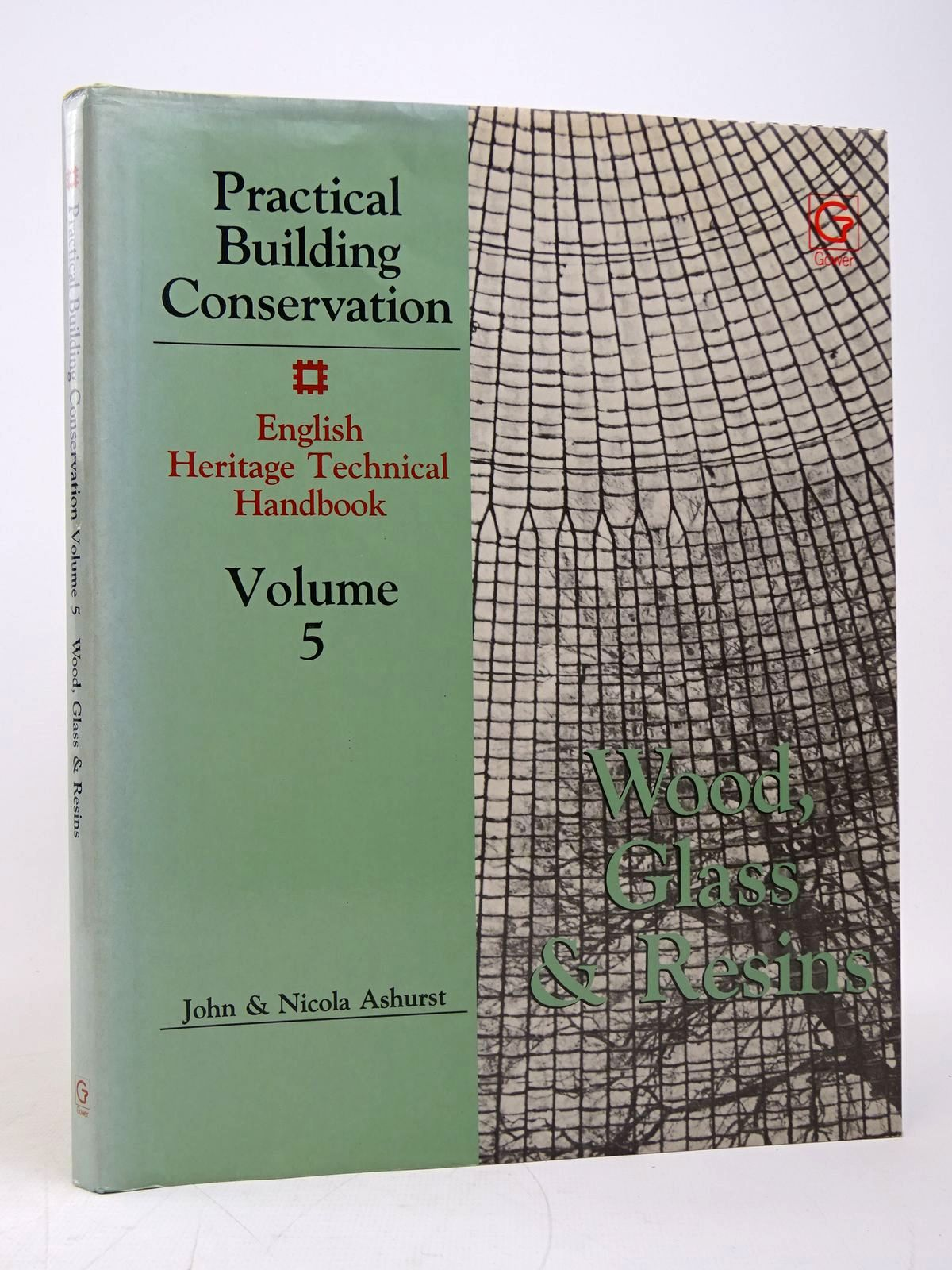 Photo of PRACTICAL BUILDING CONSERVATION VOLUME 5: WOOD, GLASS AND RESINS AND TECHNICAL BIBLIOGRAPHY written by Ashurst, John<br />Ashurst, Nicola published by Gower Technical Press (STOCK CODE: 1817831)  for sale by Stella & Rose's Books