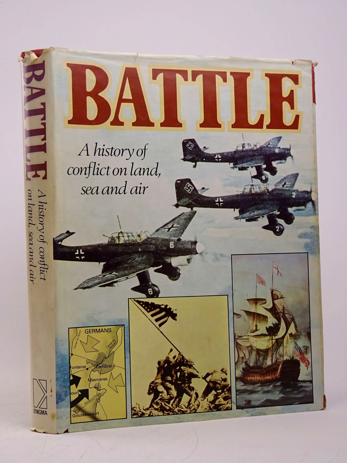 Photo of BATTLE: A HISTORY OF CONFLICT ON LAND, SEA AND AIR written by Revie, Alistair<br />Foster, Thomas<br />Graham, Burton published by Enigma Books (STOCK CODE: 1817857)  for sale by Stella & Rose's Books