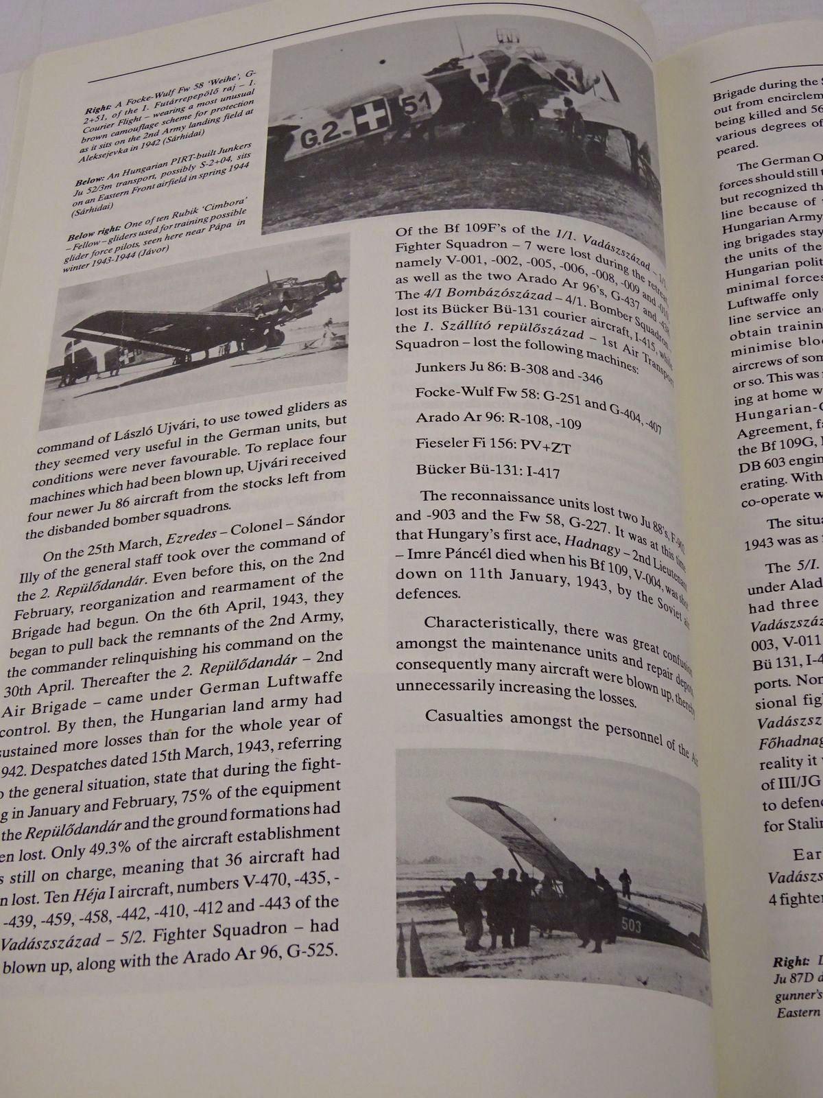 Photo of HUNGARIAN EAGLES: A MAGYAR KIRALYI HONVED LEGIERO 1920-1945 written by Sarhidai, Gyula Punka, Gyorgy Kozlik, Viktor published by Hikoki Publications (STOCK CODE: 1817913)  for sale by Stella & Rose's Books