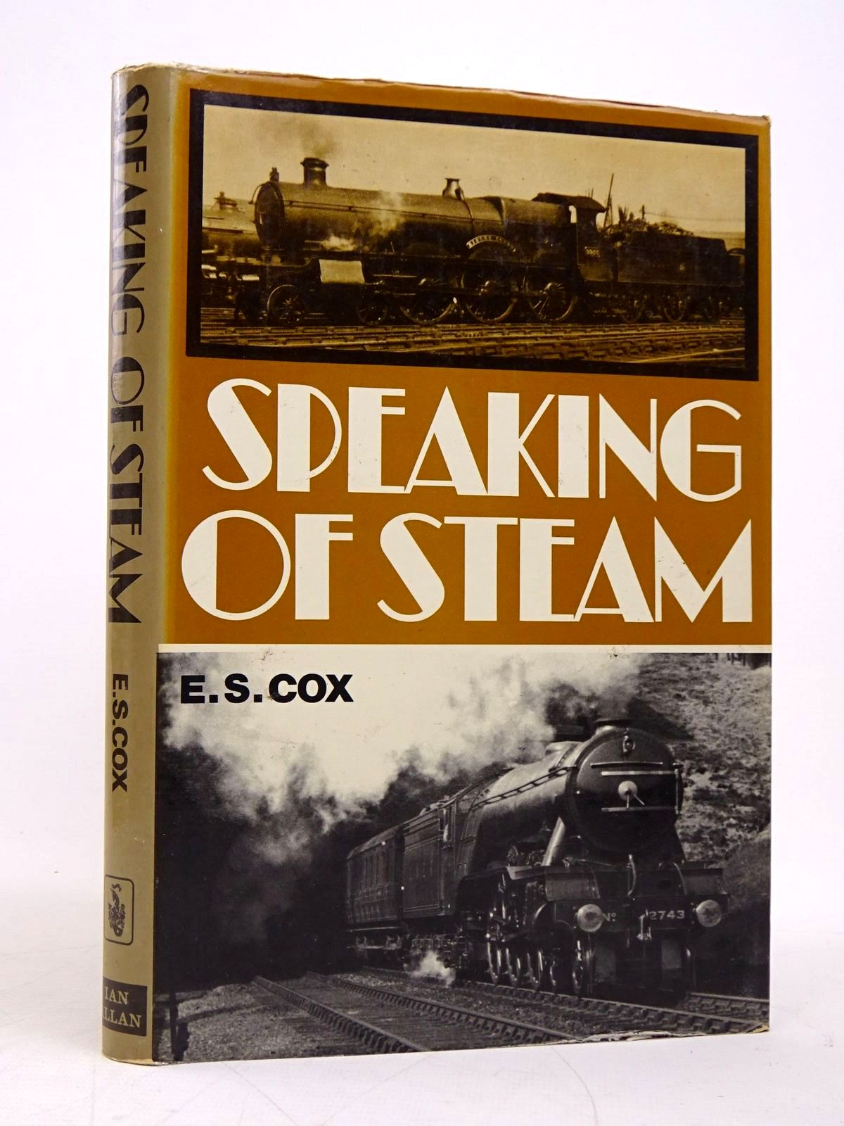 Photo of SPEAKING OF STEAM written by Cox, E.S. published by Ian Allan (STOCK CODE: 1817984)  for sale by Stella & Rose's Books