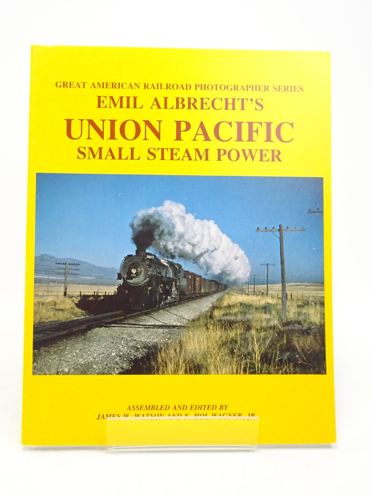 Photo of EMIL ALBRECHT'S UNION PACIFIC SMALL STEAM POWER written by Watson, James W.<br />Wagner, F. Hol published by Motive Power Services (STOCK CODE: 1818041)  for sale by Stella & Rose's Books