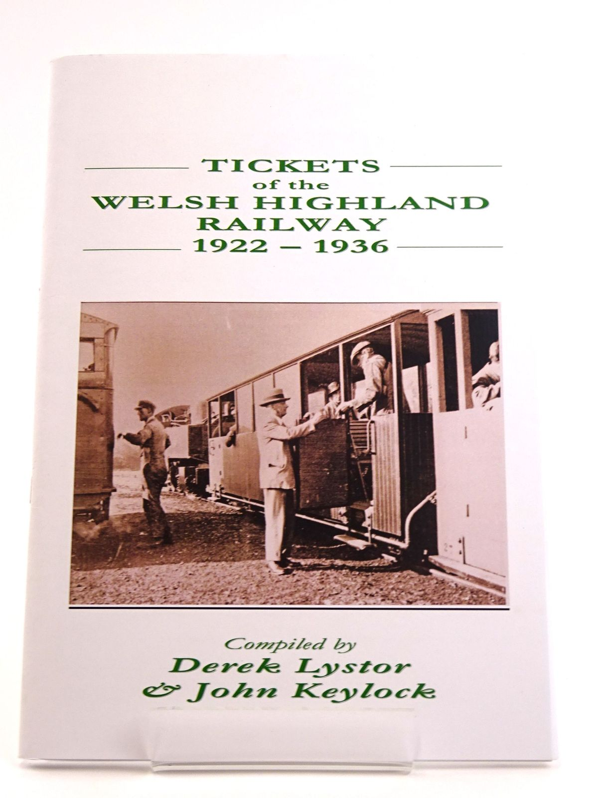 Photo of TICKETS OF THE WELSH HIGHLAND RAILWAY 1922-1936- Stock Number: 1818101