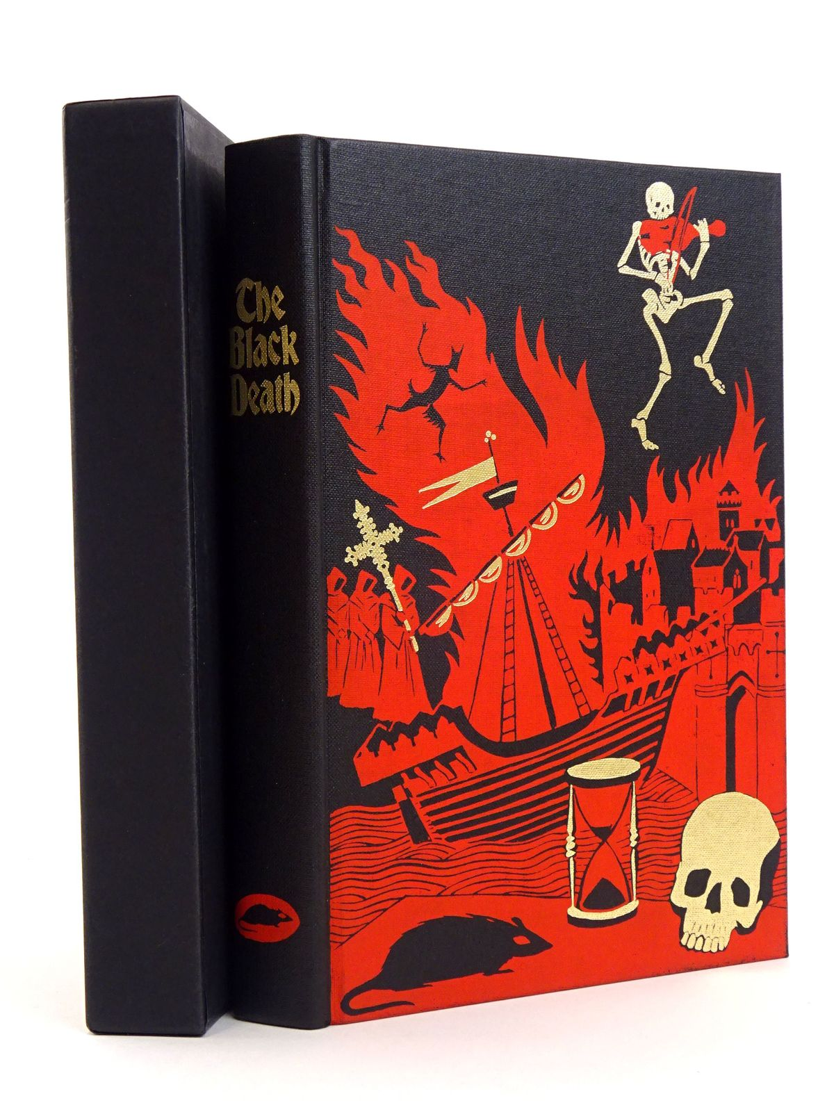 Photo of THE BLACK DEATH written by Ziegler, Philip published by Folio Society (STOCK CODE: 1818134)  for sale by Stella & Rose's Books