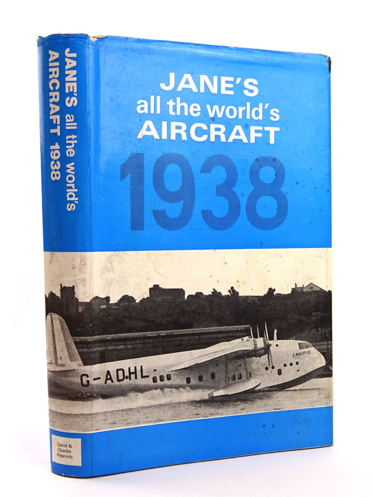 Photo of JANE'S ALL THE WORLD'S AIRCRAFT 1938- Stock Number: 1818139