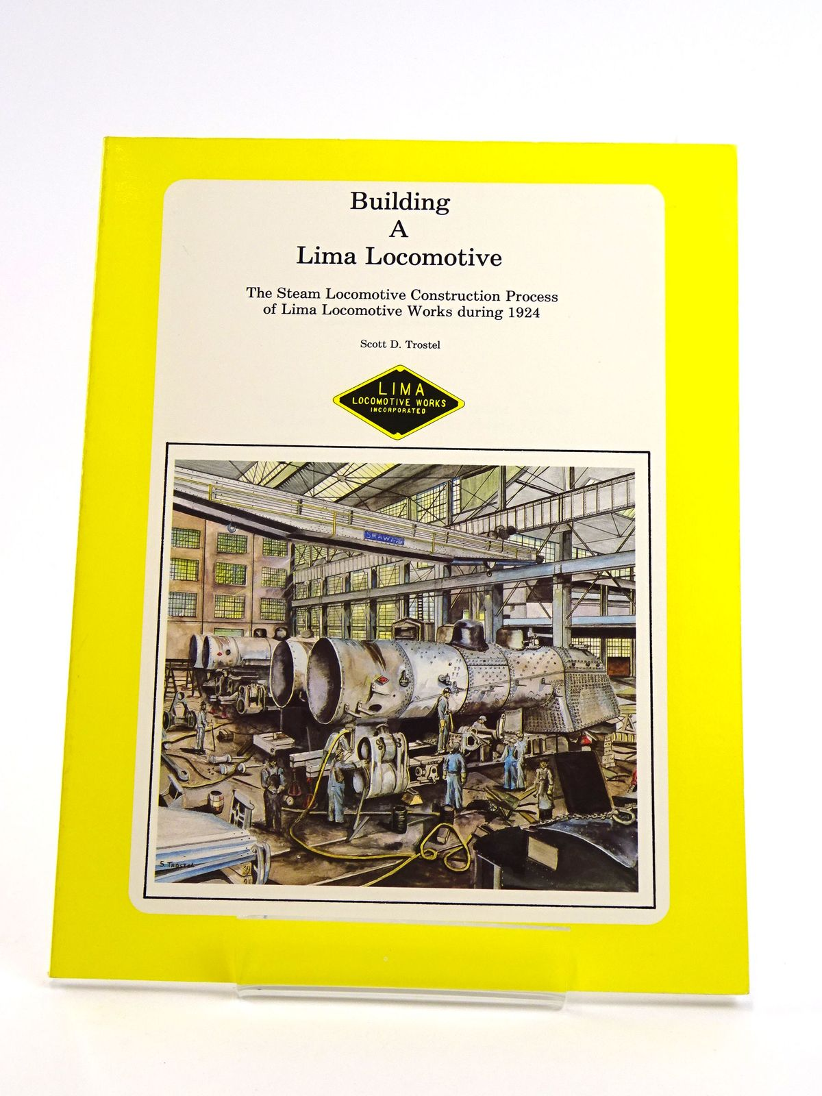 Photo of BUILDING A LIMA LOCOMOTIVE- Stock Number: 1818156