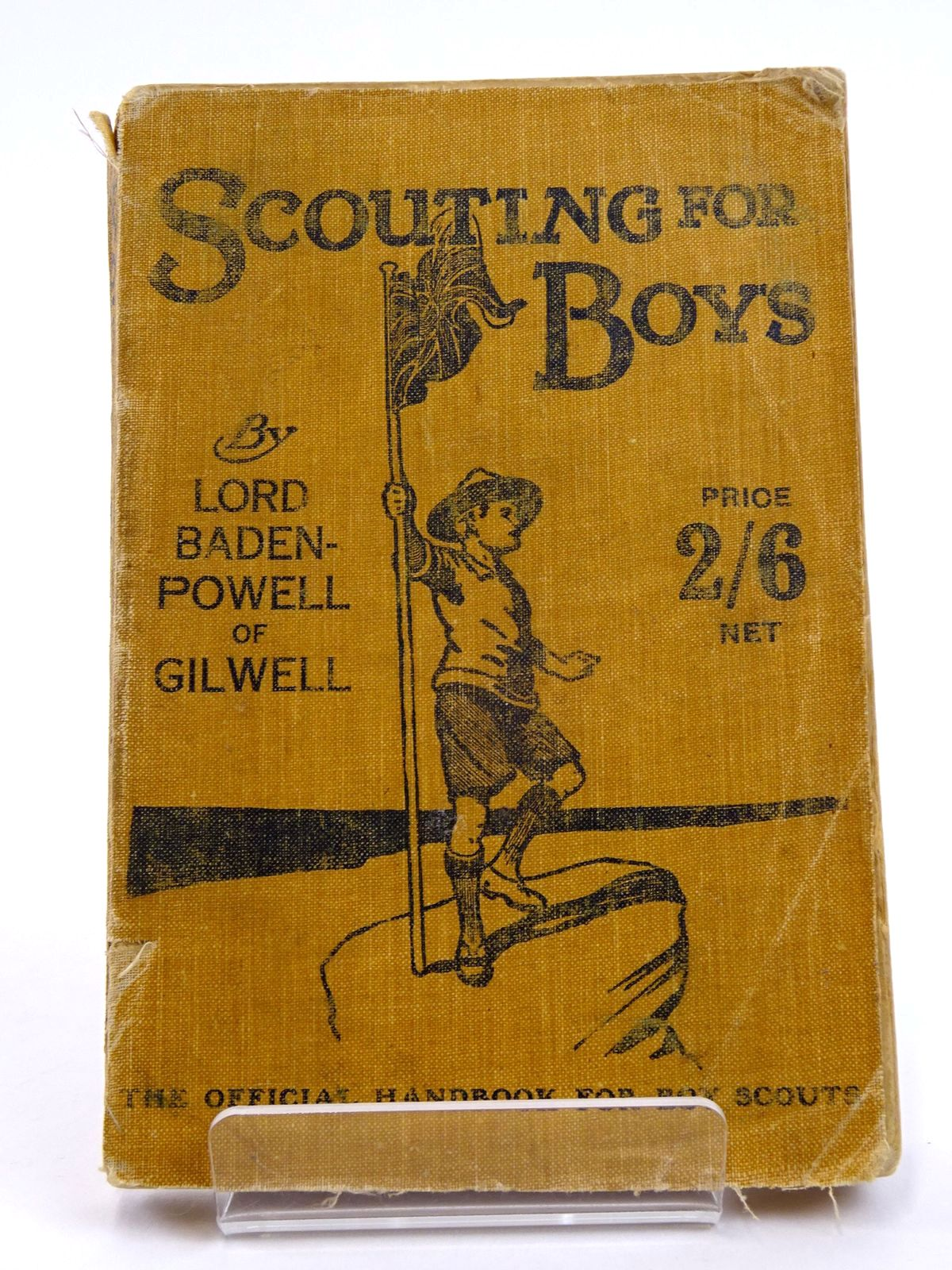 Photo of SCOUTING FOR BOYS: A HANDBOOK FOR INSTRUCTION IN GOOD CITIZENSHIP THROUGH WOODCRAFT written by Baden-Powell, Robert published by C. Arthur Pearson Ltd. (STOCK CODE: 1818171)  for sale by Stella & Rose's Books